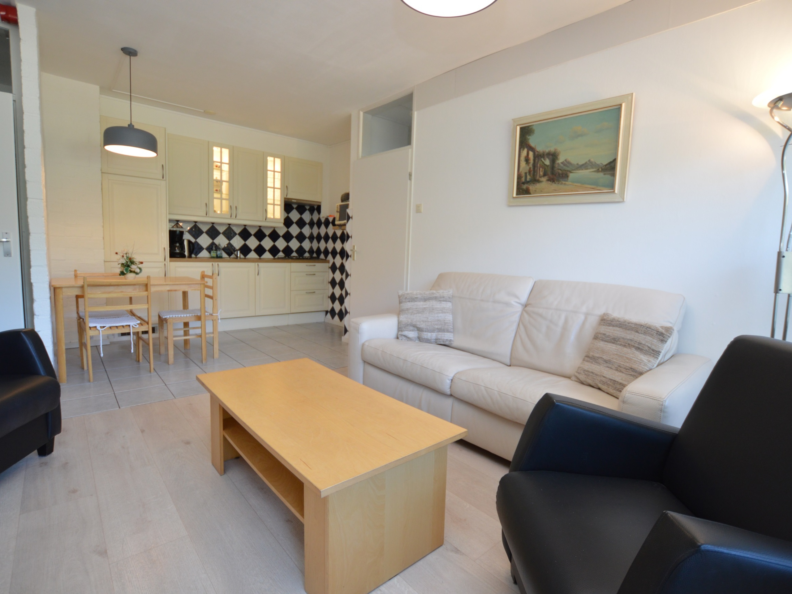 Bright apartment in the ground floor near De Koog