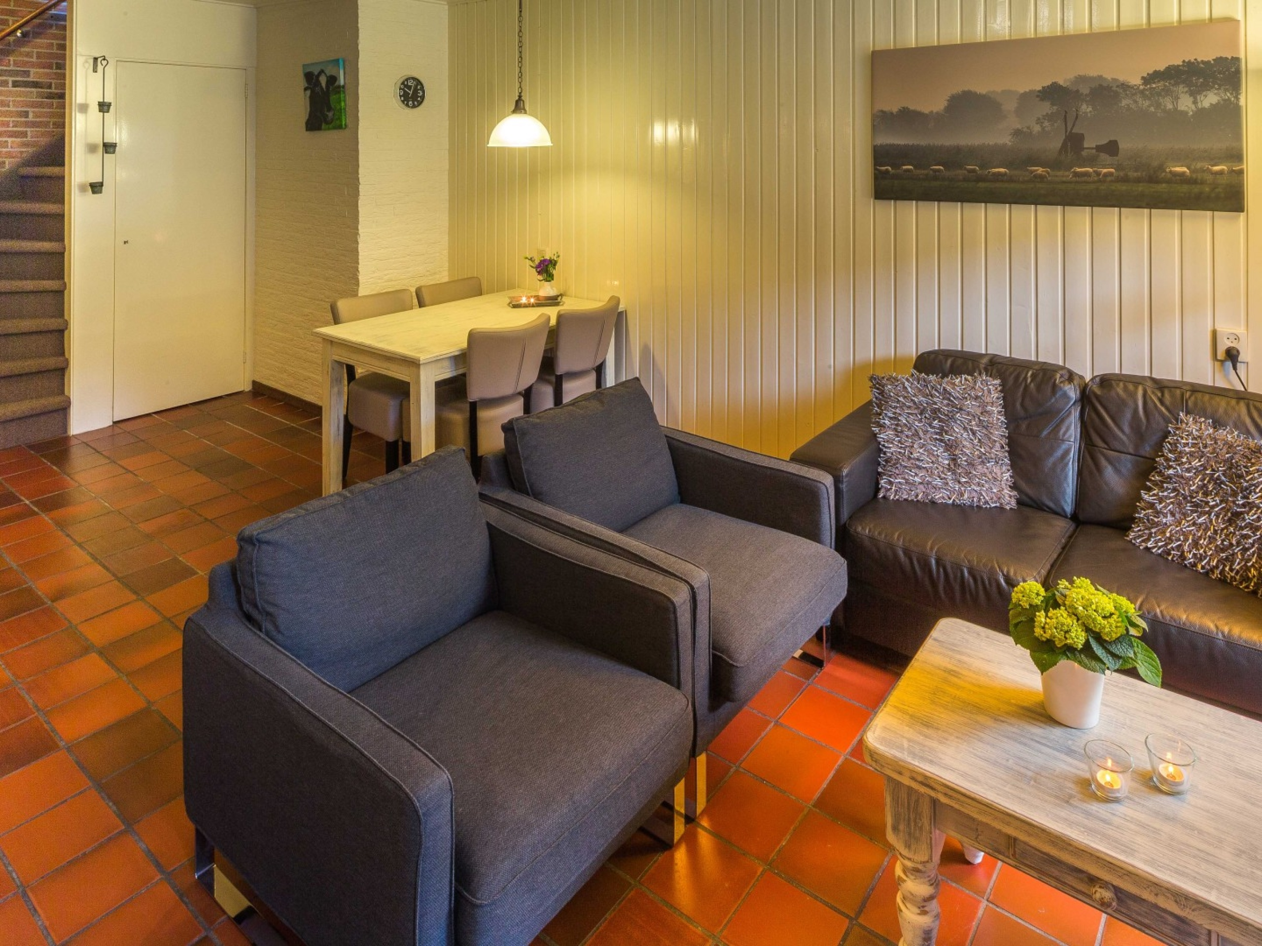 Cosy holiday home with comfortable beds in the centre of Den Burg