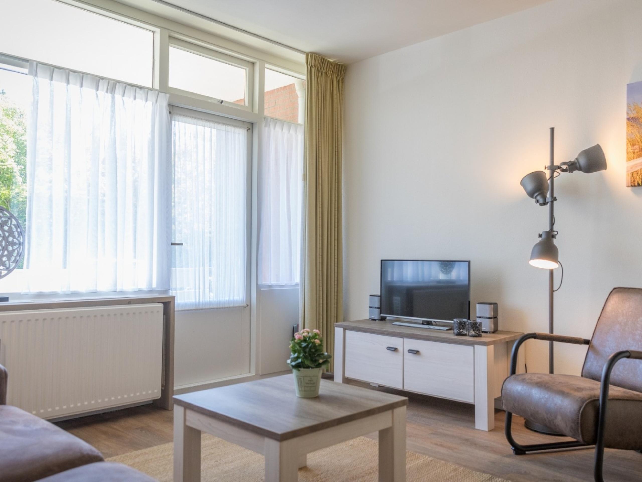 Geräumige Wohnung mit Terrasse und ruhige Lage am Rande von De Koog
