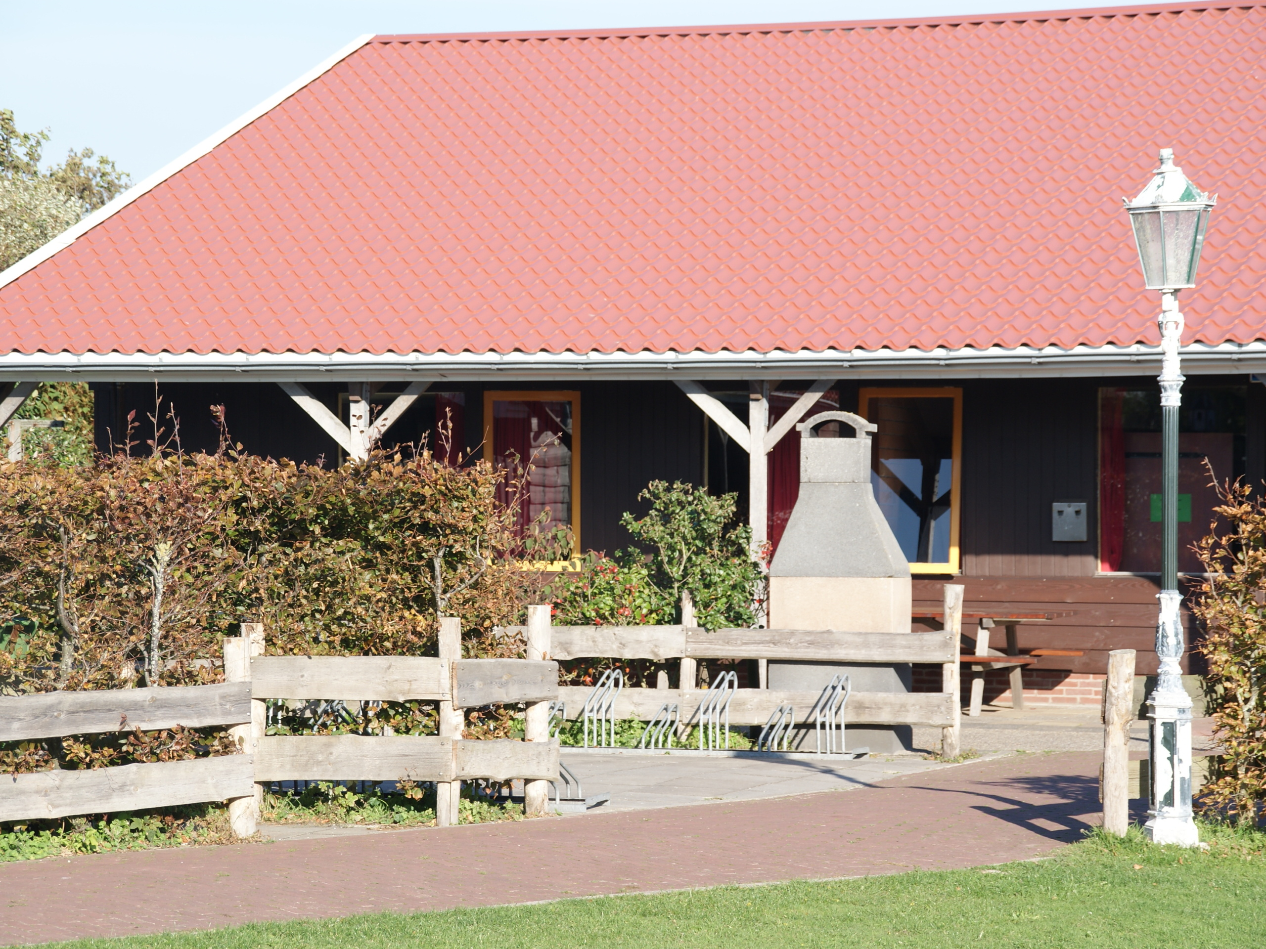Country western style group accommodation near Den Hoorn