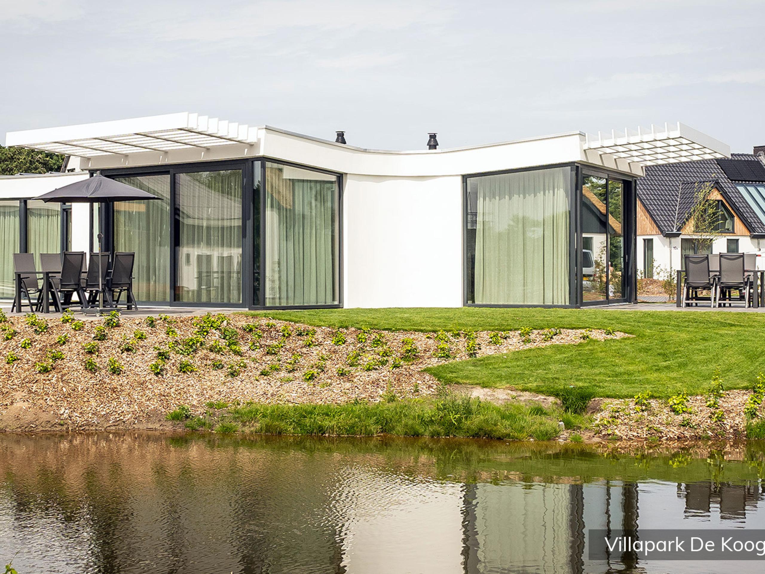 Luxe familievilla voor 8 personen op villapark in De Koog