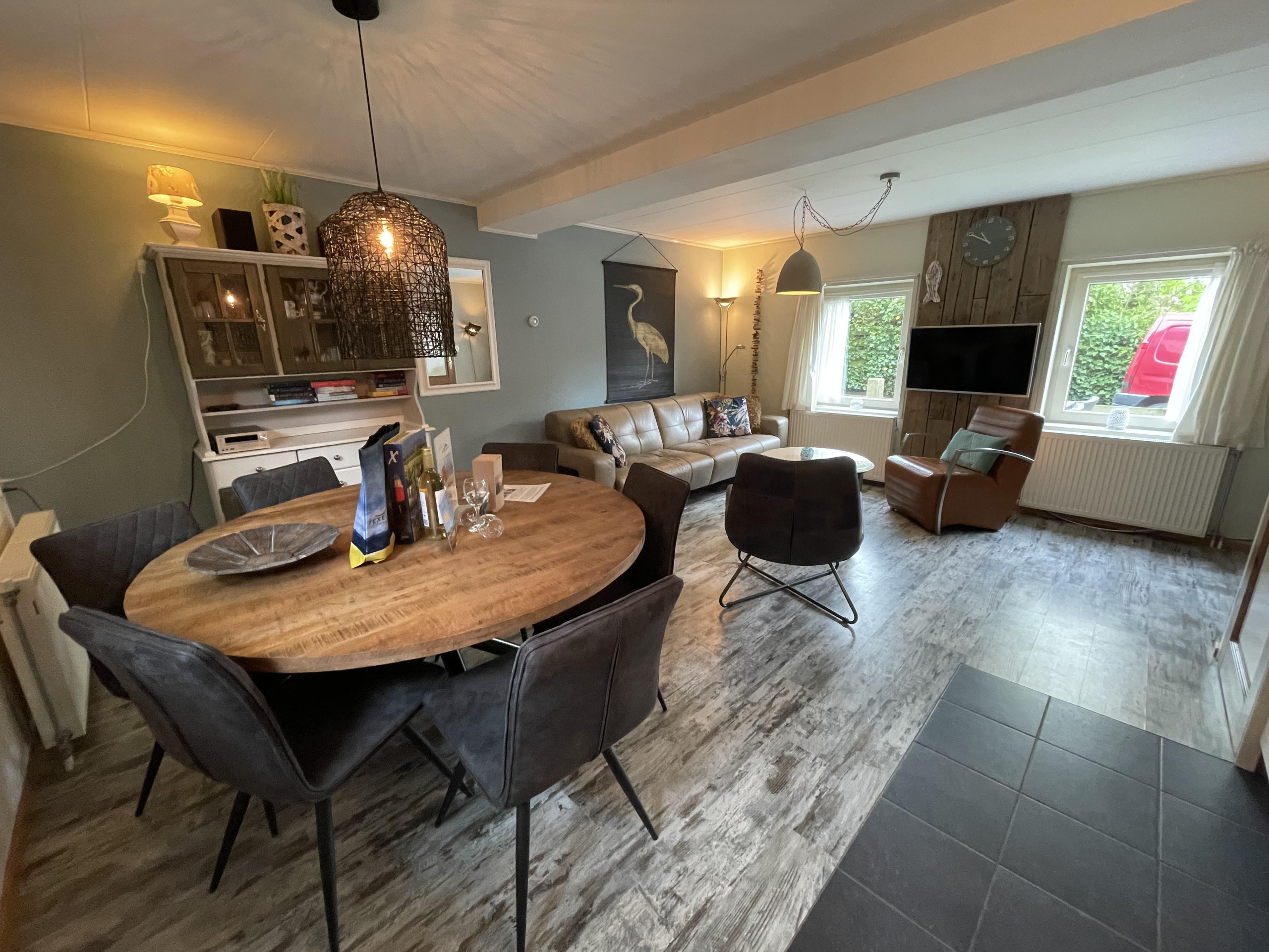 Comfortabel vakantiehuis rustig gelegen bij het pittoreske Den Hoorn