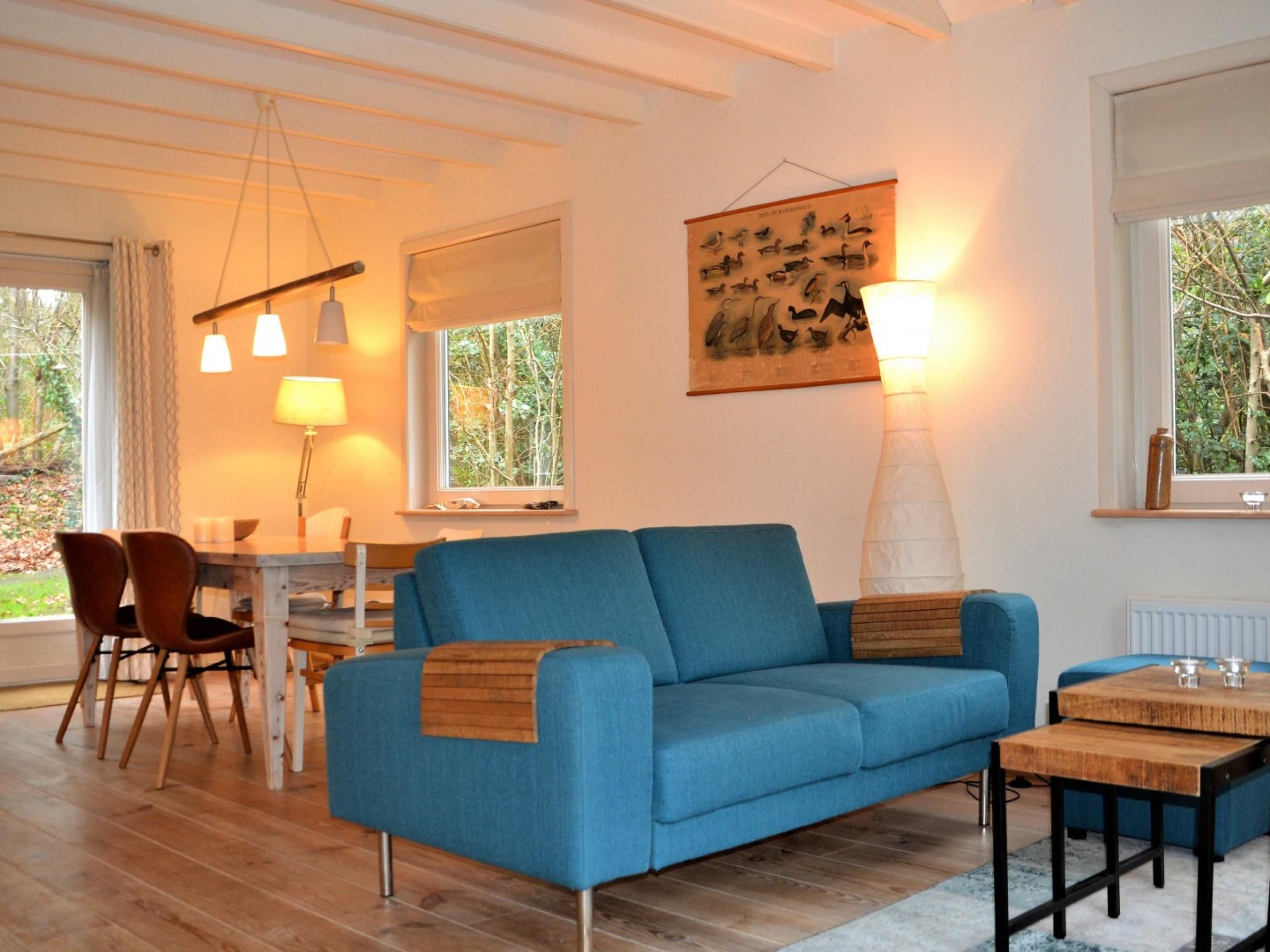 Vakantiehuis rustig gelegen, grenst aan bos, nabij De Koog