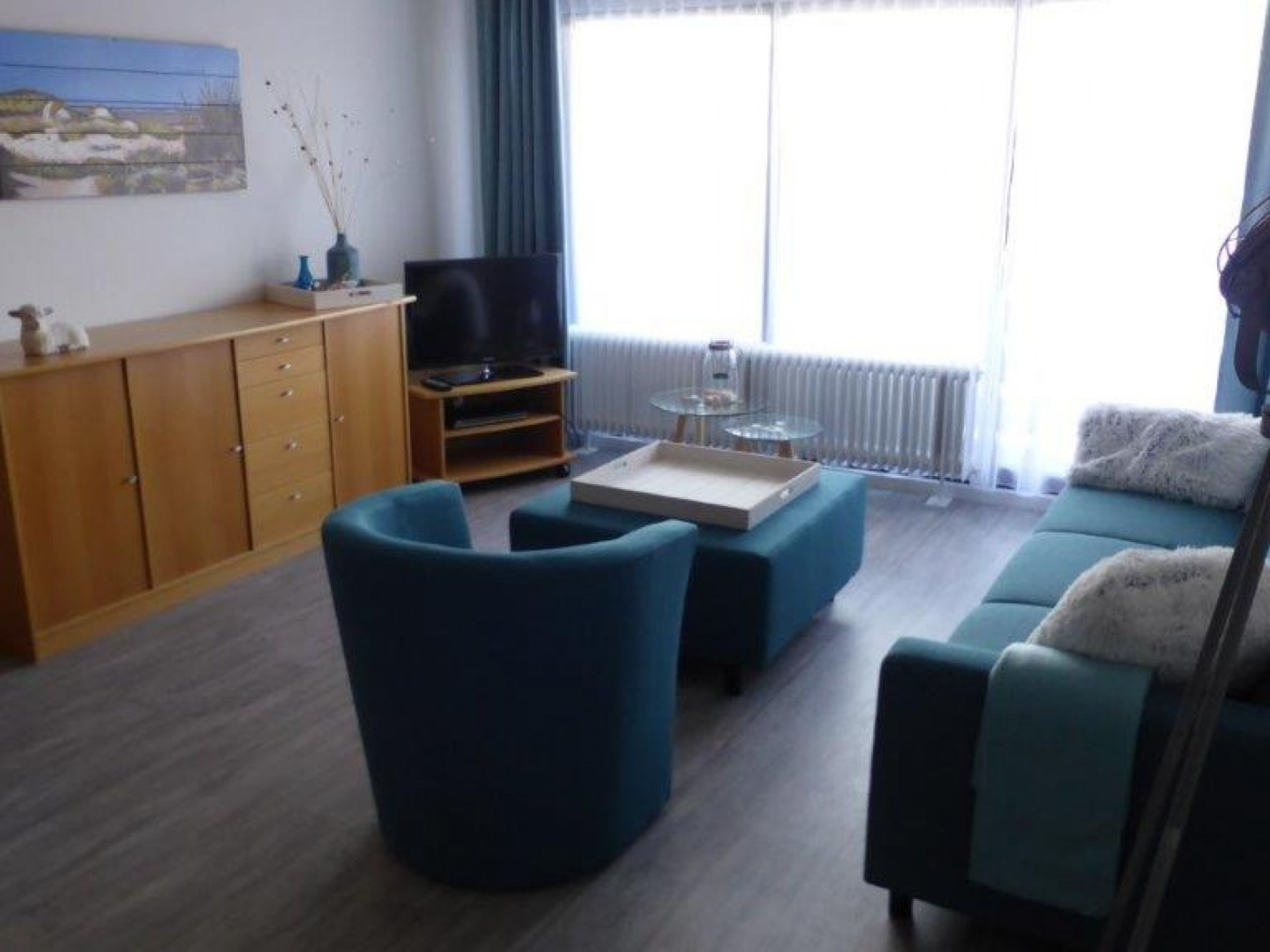 Comfortable modern apartment with balcony in the center of De Koog
