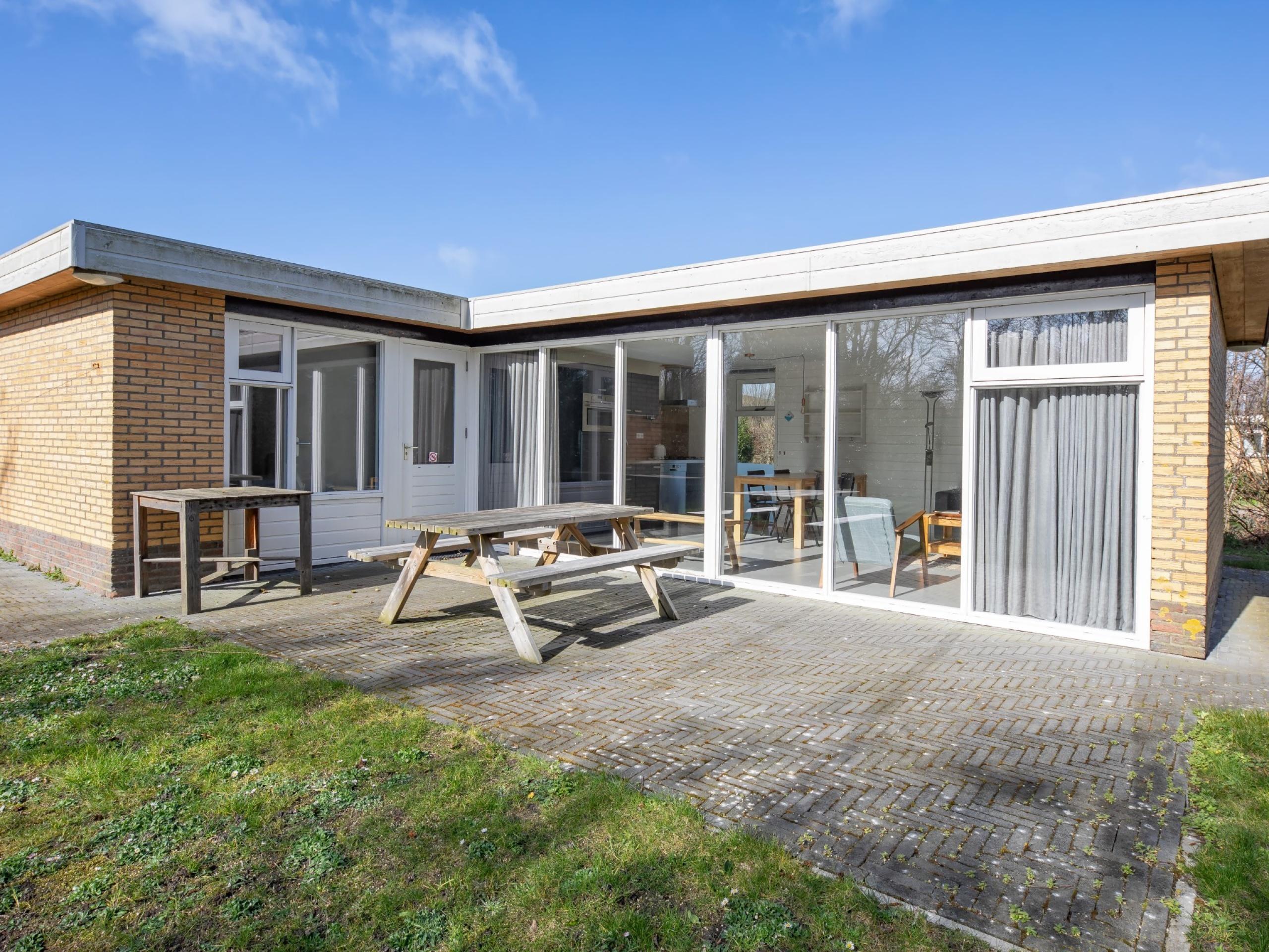 Komfortables Ferienhaus mit einzigartiger Lage bei De Slufter und De Cocksdorp