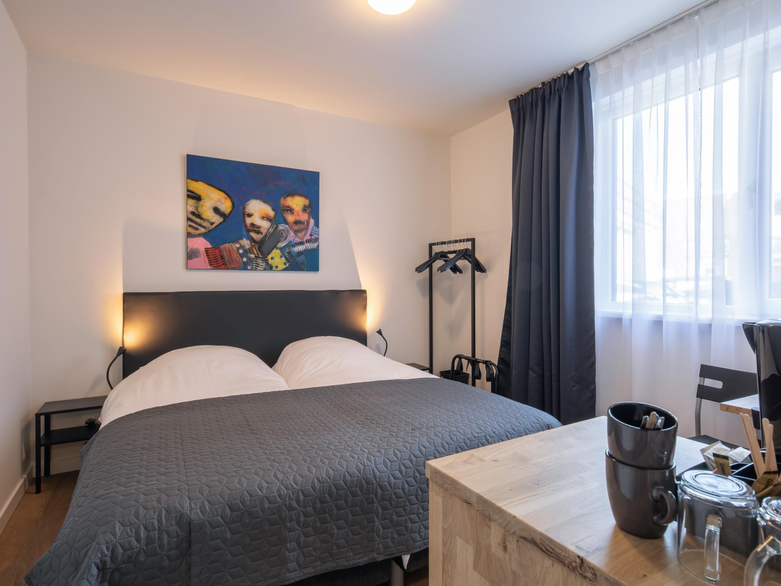 Moderne kamers in het centrum van Den Burg