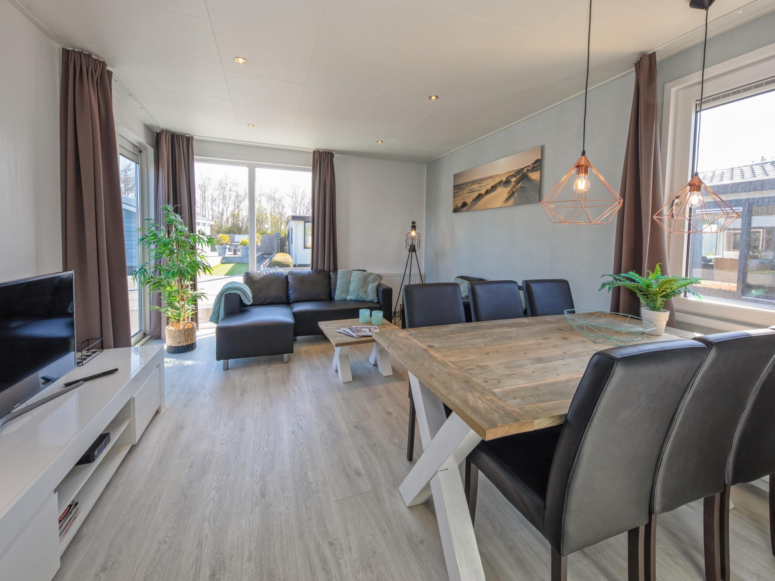 Luxuriöses, modernes Chalet in der Nähe des Nordseestrandes in De Koog