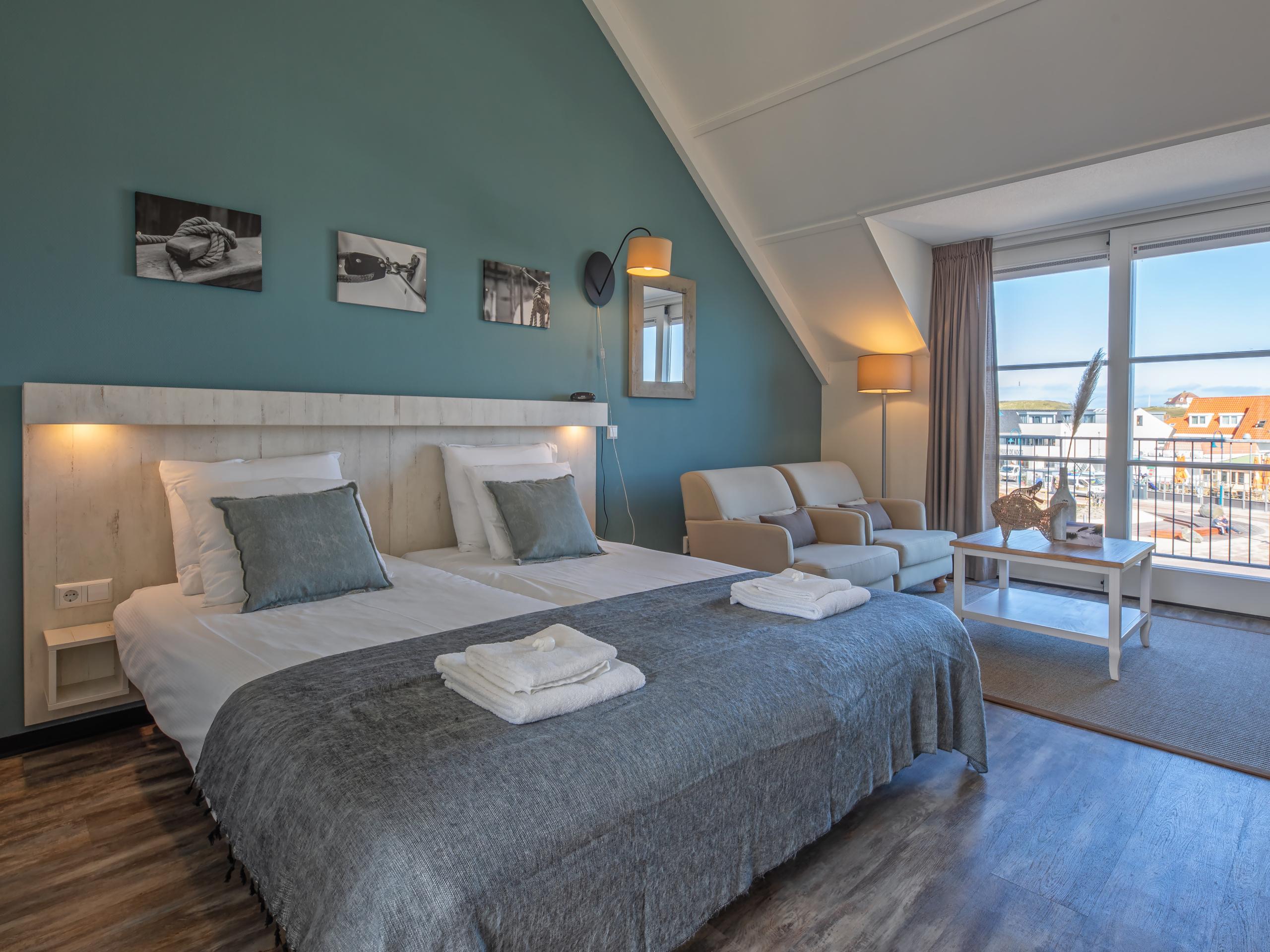 Suite in De Koog, 5 Minuten vom Nordseestrand entfernt