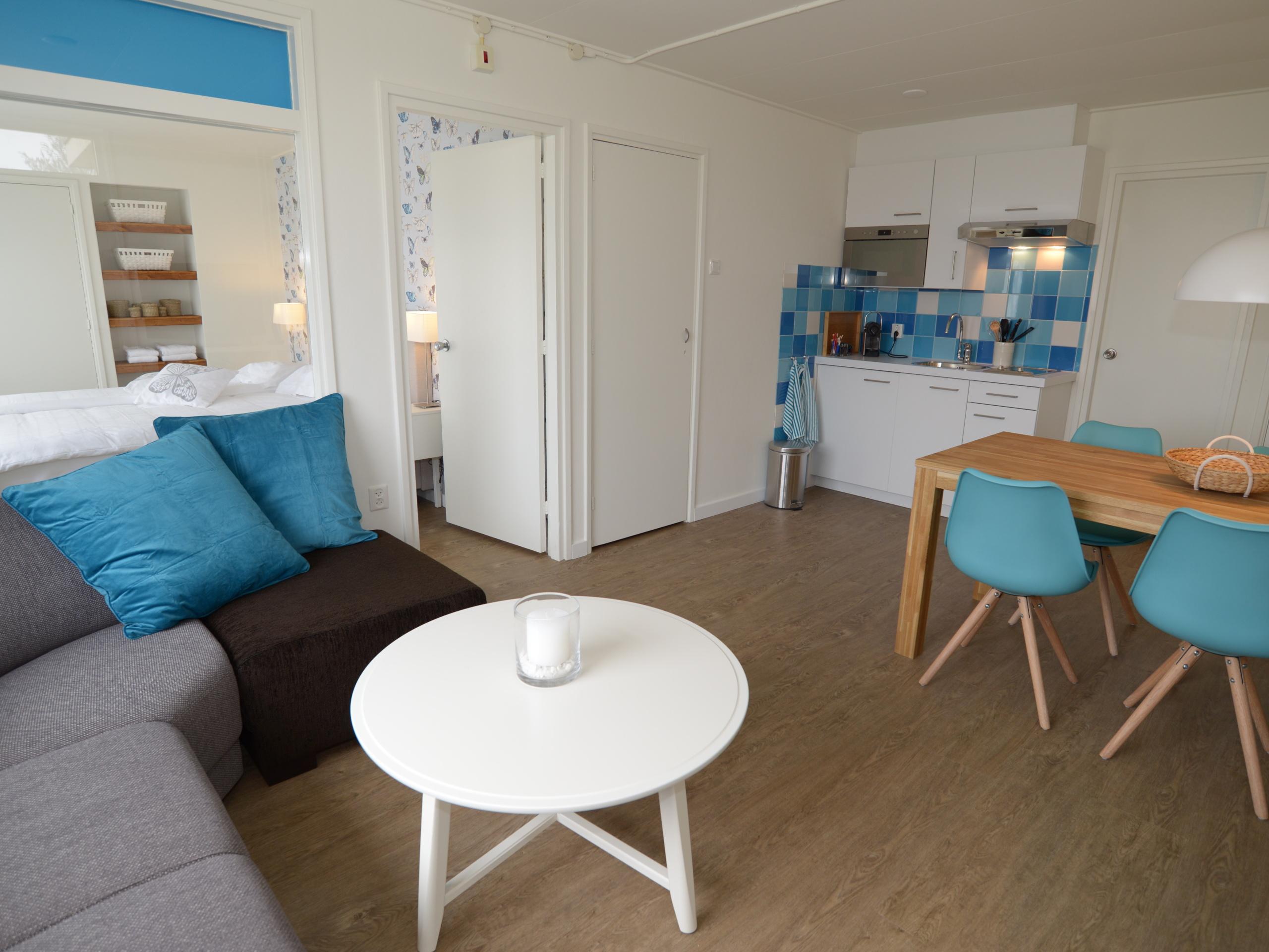Komfortables Ferienhaus mit den Einrichtungen und Annehmlichkeiten eines Hotels