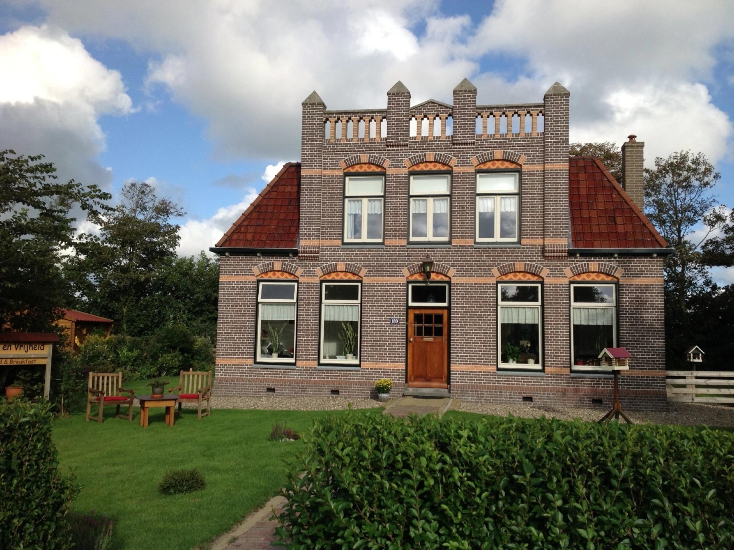 Vanuit je karakteristieke kamer nabij De Koog ruim zicht over Texel