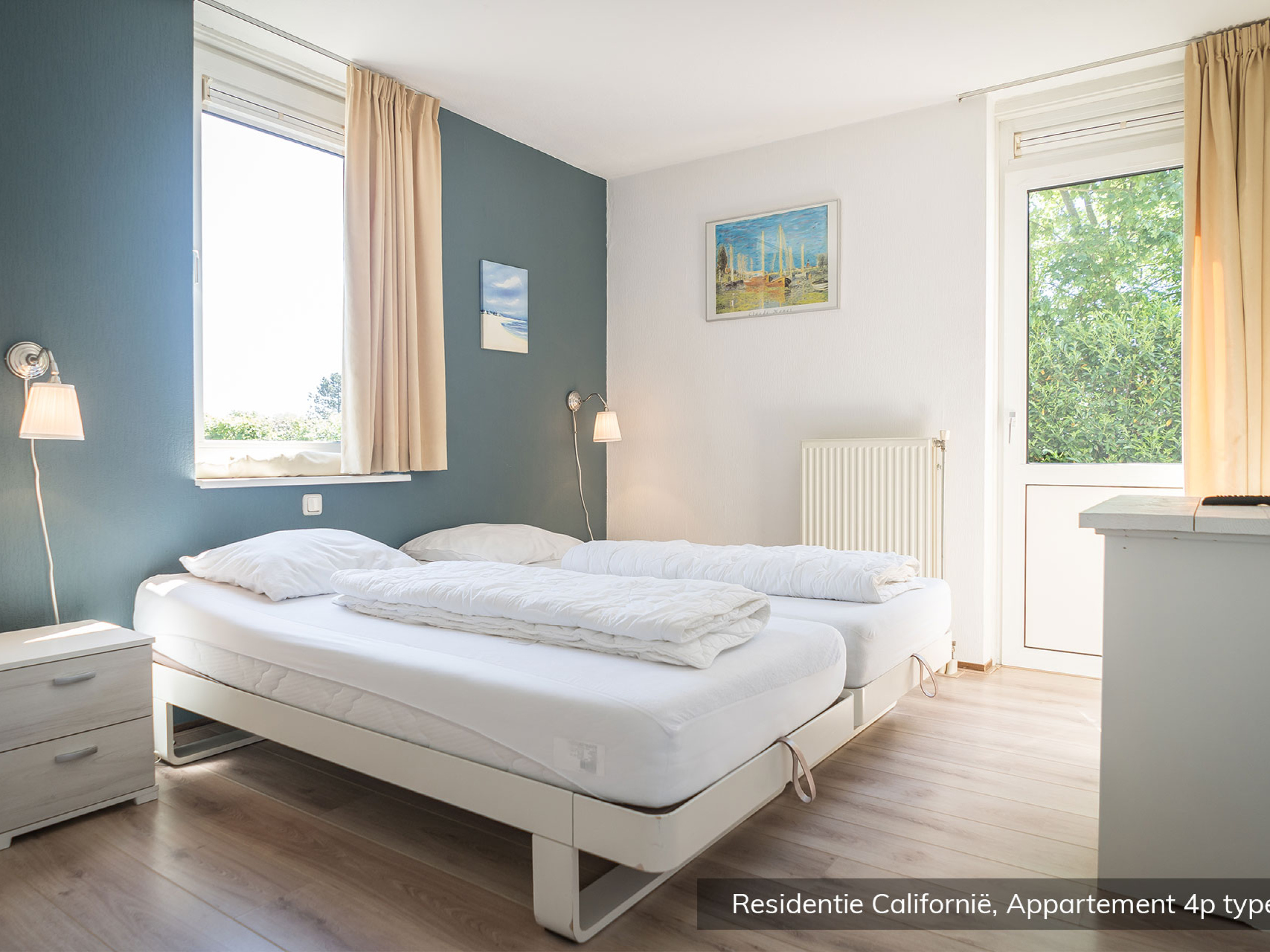 Volop genieten in luxe appartement vlakbij het Noordzeestrand en De Koog
