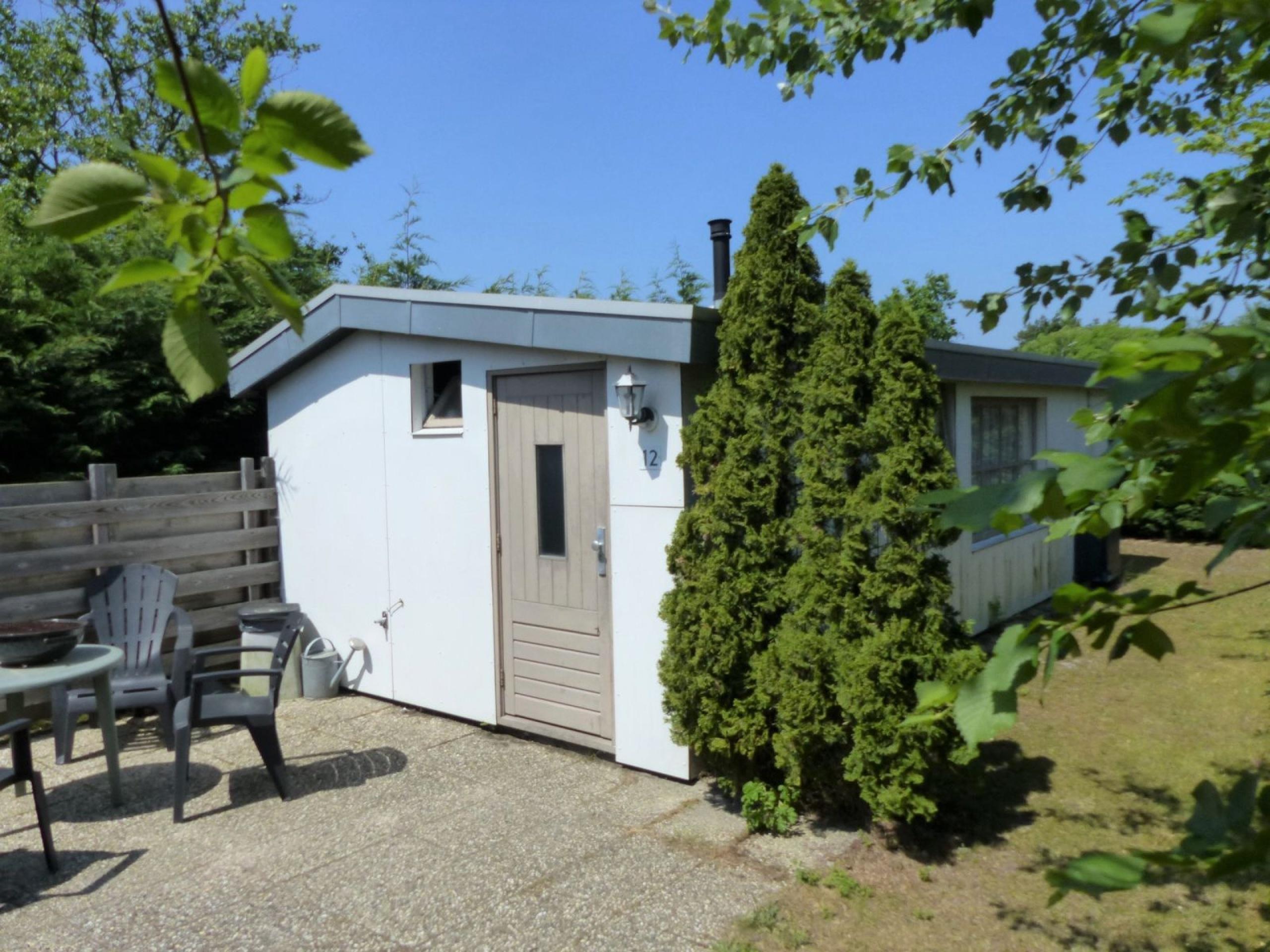 Knus vakantiehuis met ideale ligging aan de rand van De Koog