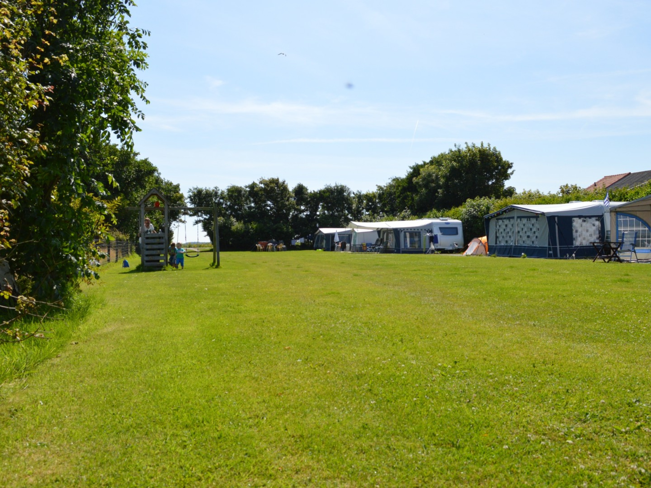 Great camping in this ideal quiet location near De Cocksdorp
