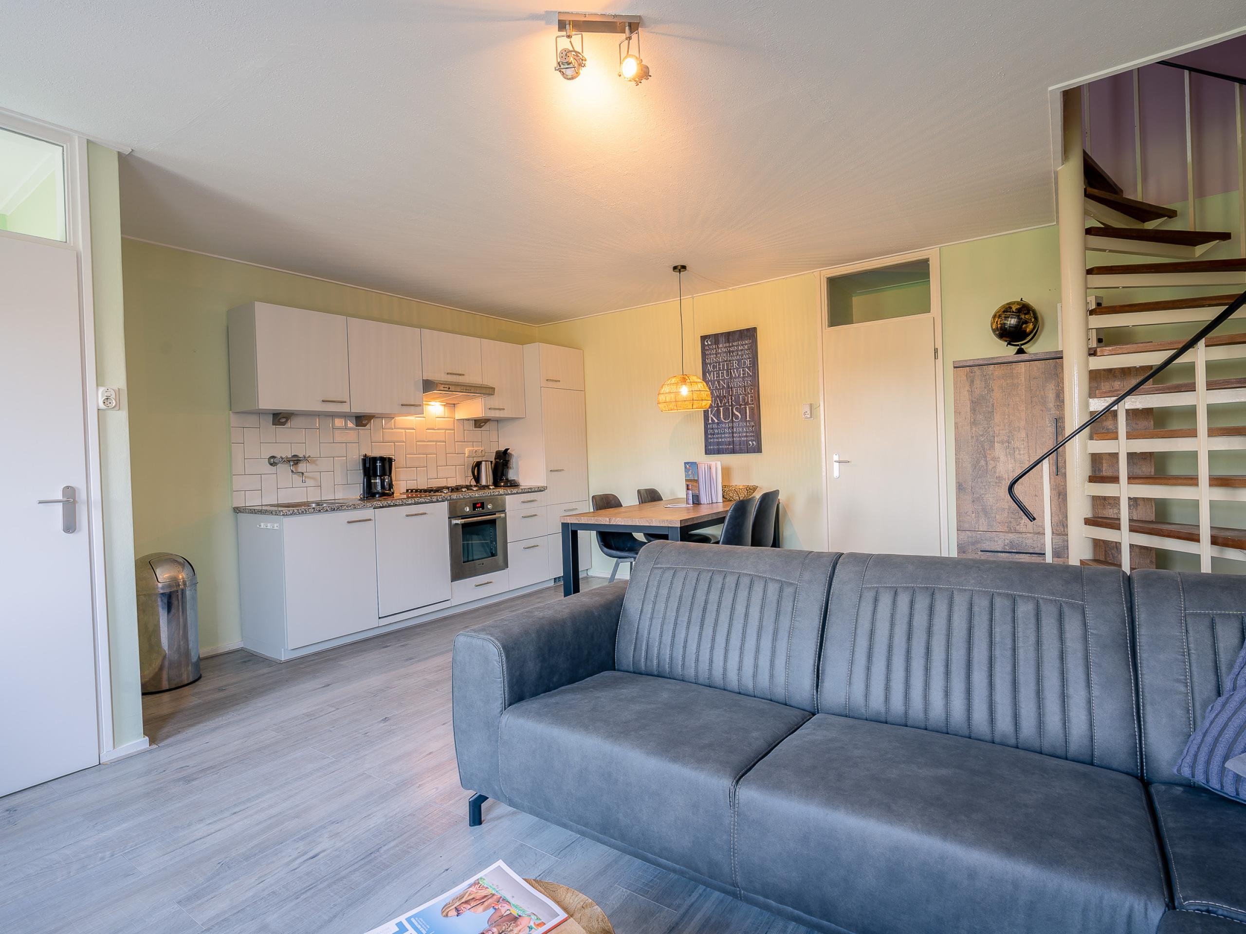 Comfortable apartment near nature reserves on the edge of De Koog
