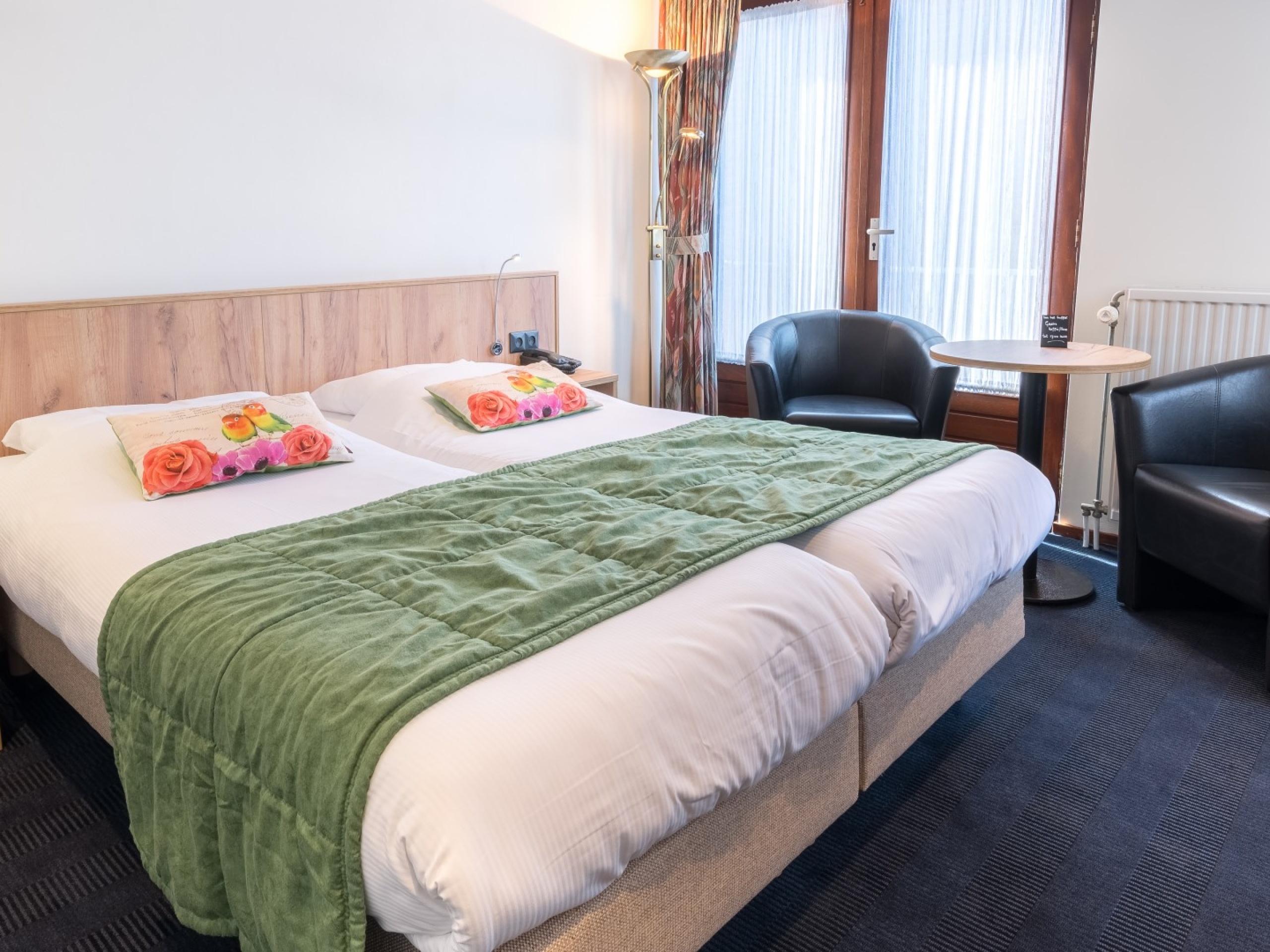 Familiehotel in De Koog met ruime, lichte kamers
