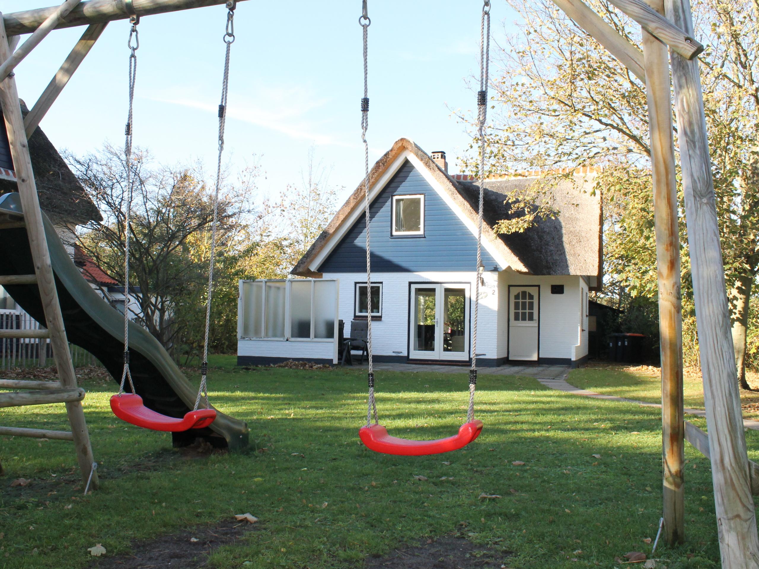 Vrijstaand vakantiehuis vlakbij het bos en het strand in De Koog