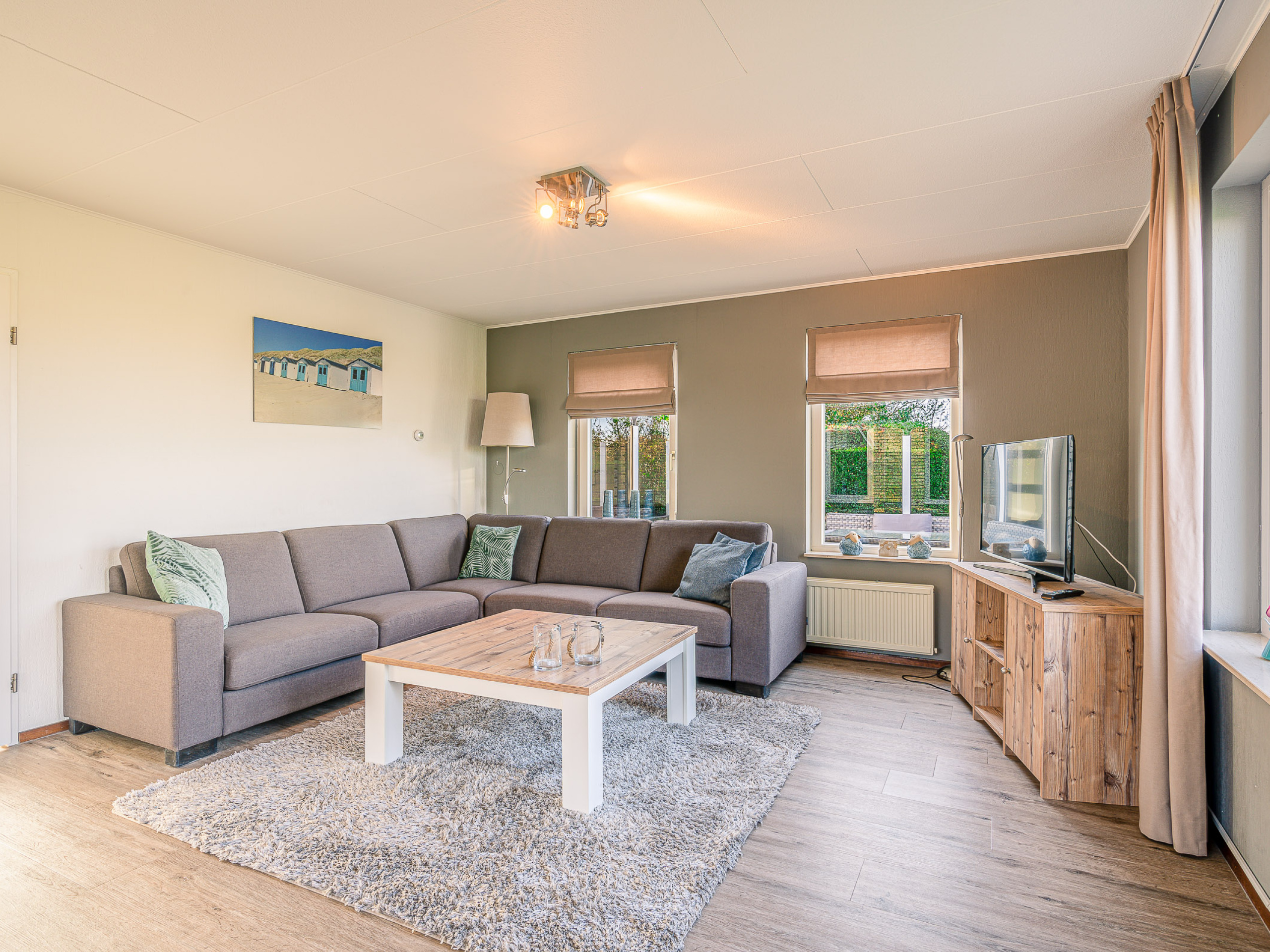 Lots of privacy in a comfortable holiday home on the edge of De Koog