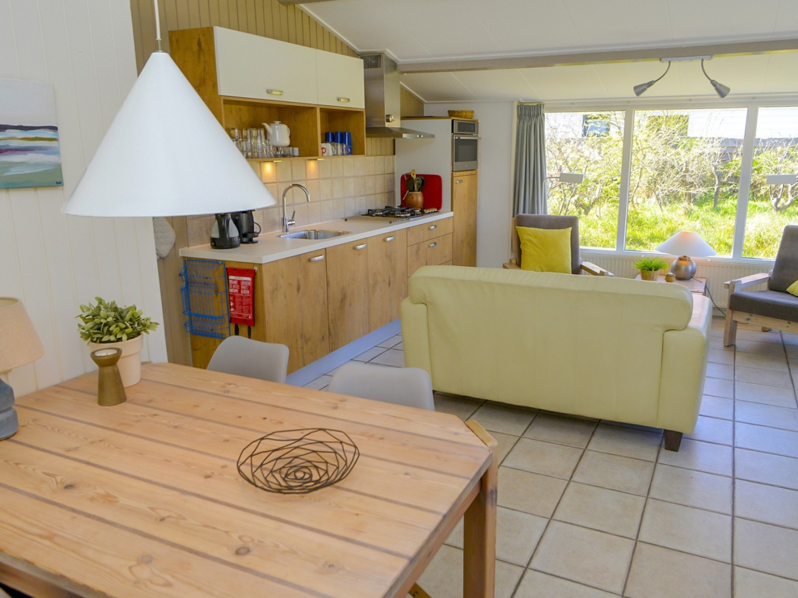 Cosy sunny holiday home in De Koog situated in the dunes