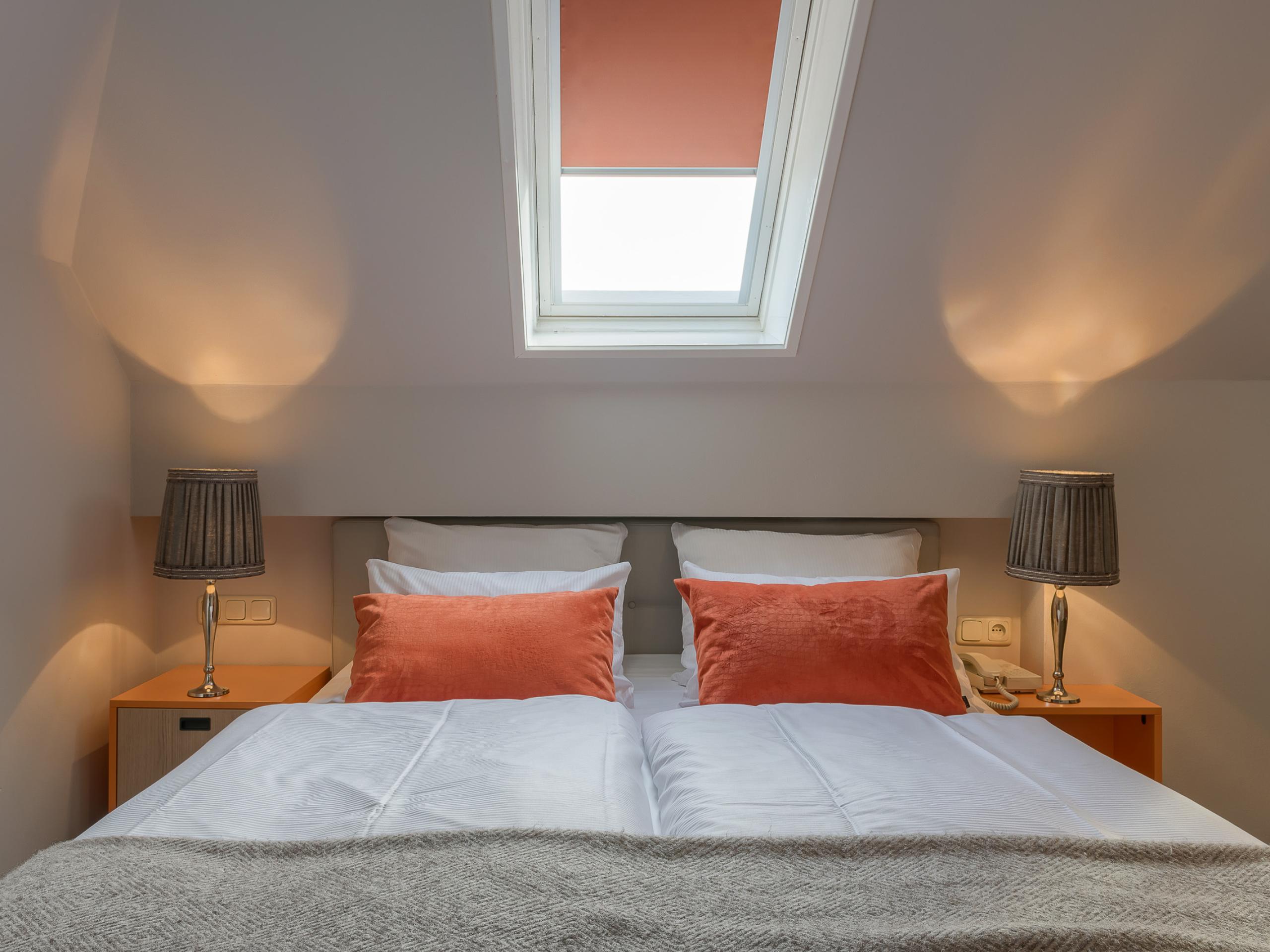 Attraktives Hotelzimmer in Den Hoorn, in dem Sie sich sofort wie zu Hause fühlen