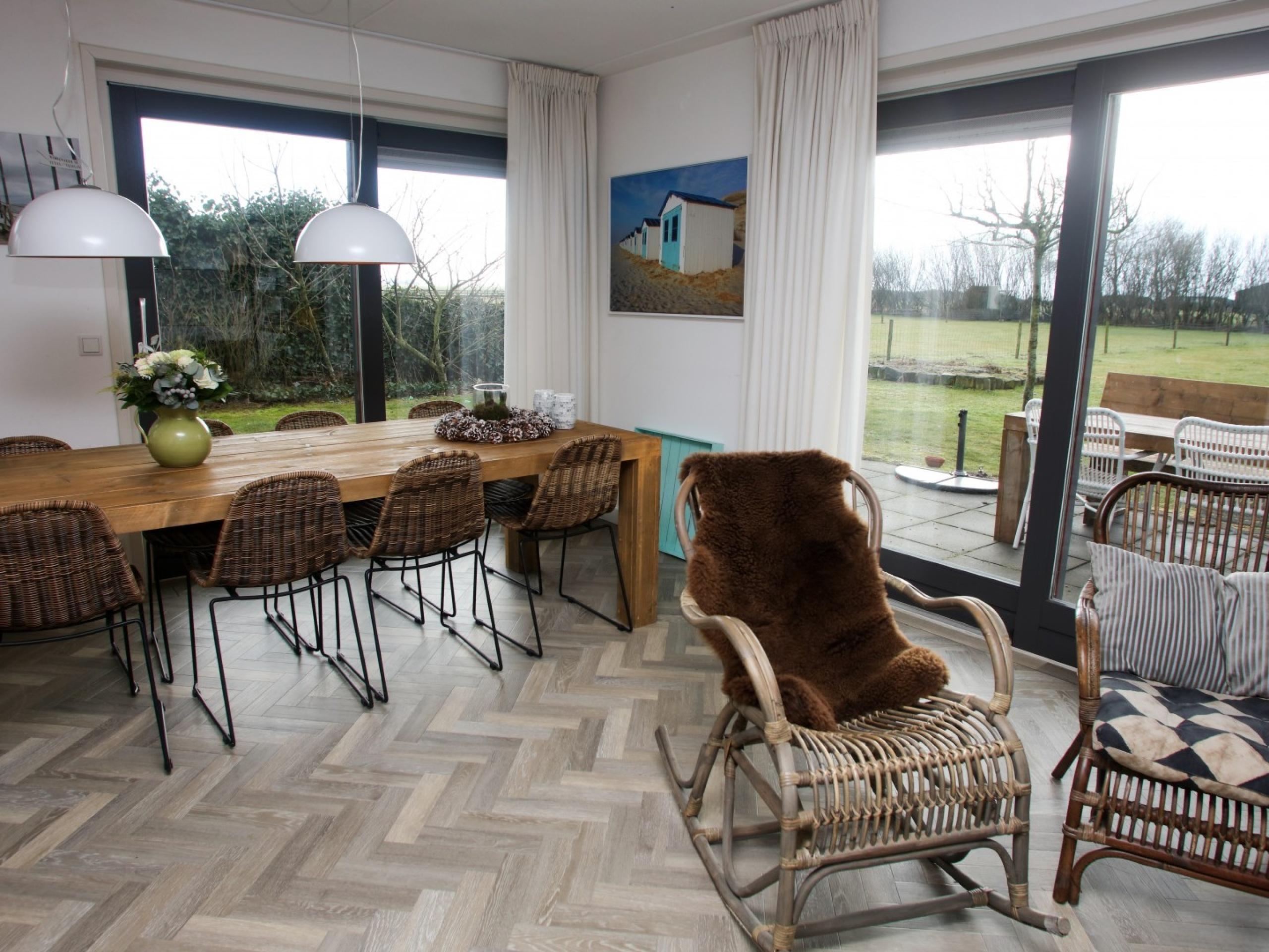 Geniet van je rust in sfeervol en gezellig vakantiehuis vlakbij De Cocksdorp