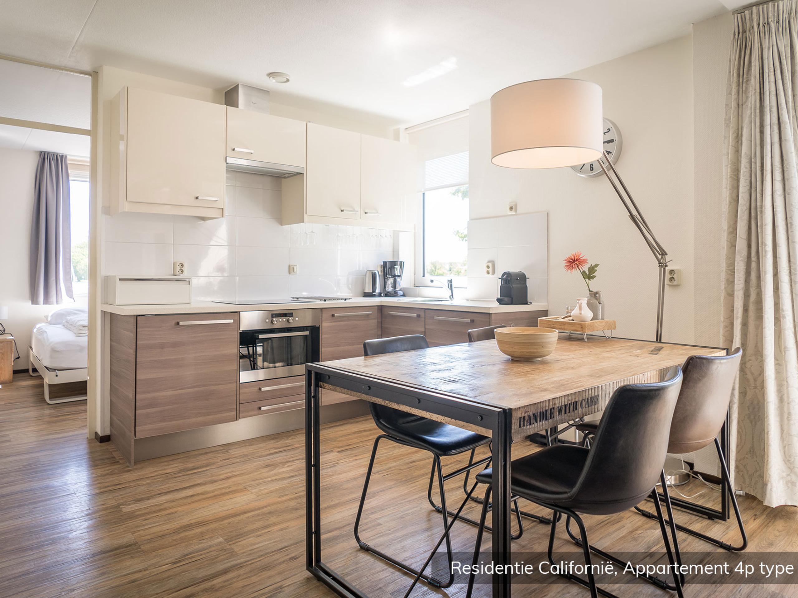 Residentieel appartement nabij De Koog, strand en bos