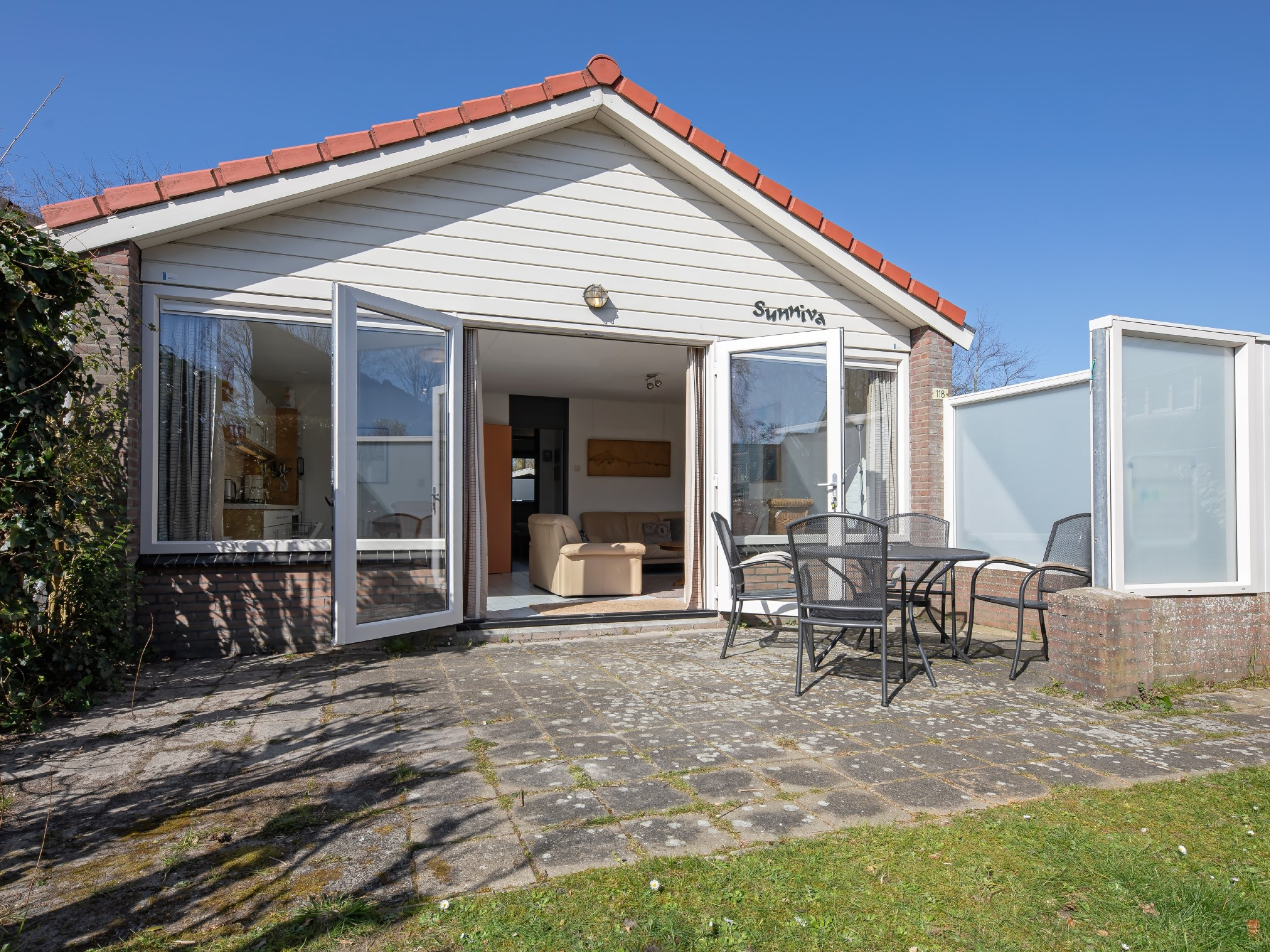 Haustierfreies Ferienhaus mit Garten bei De Cocksdorp