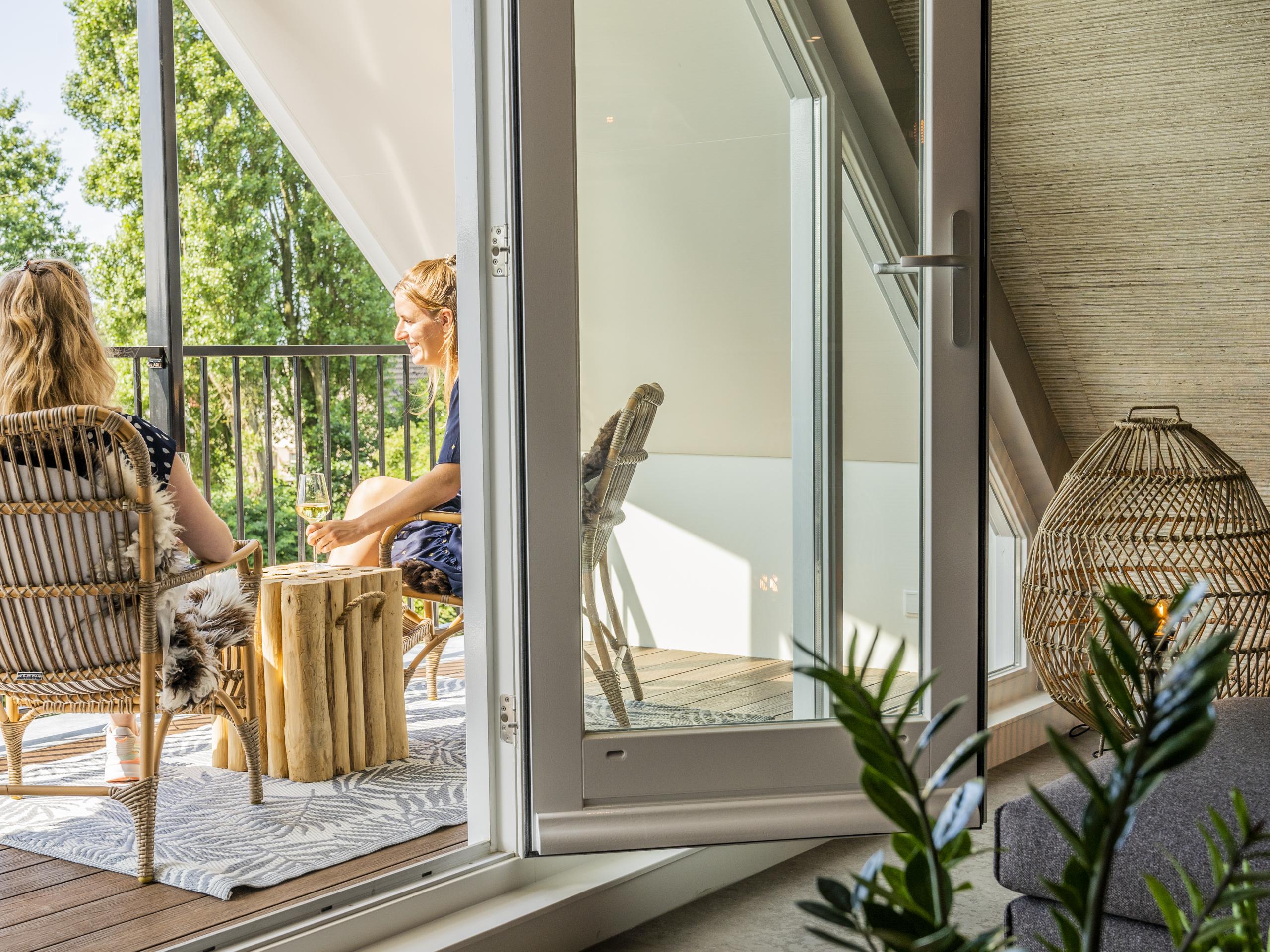 Loft suite in het in het historische centrum Den Burg