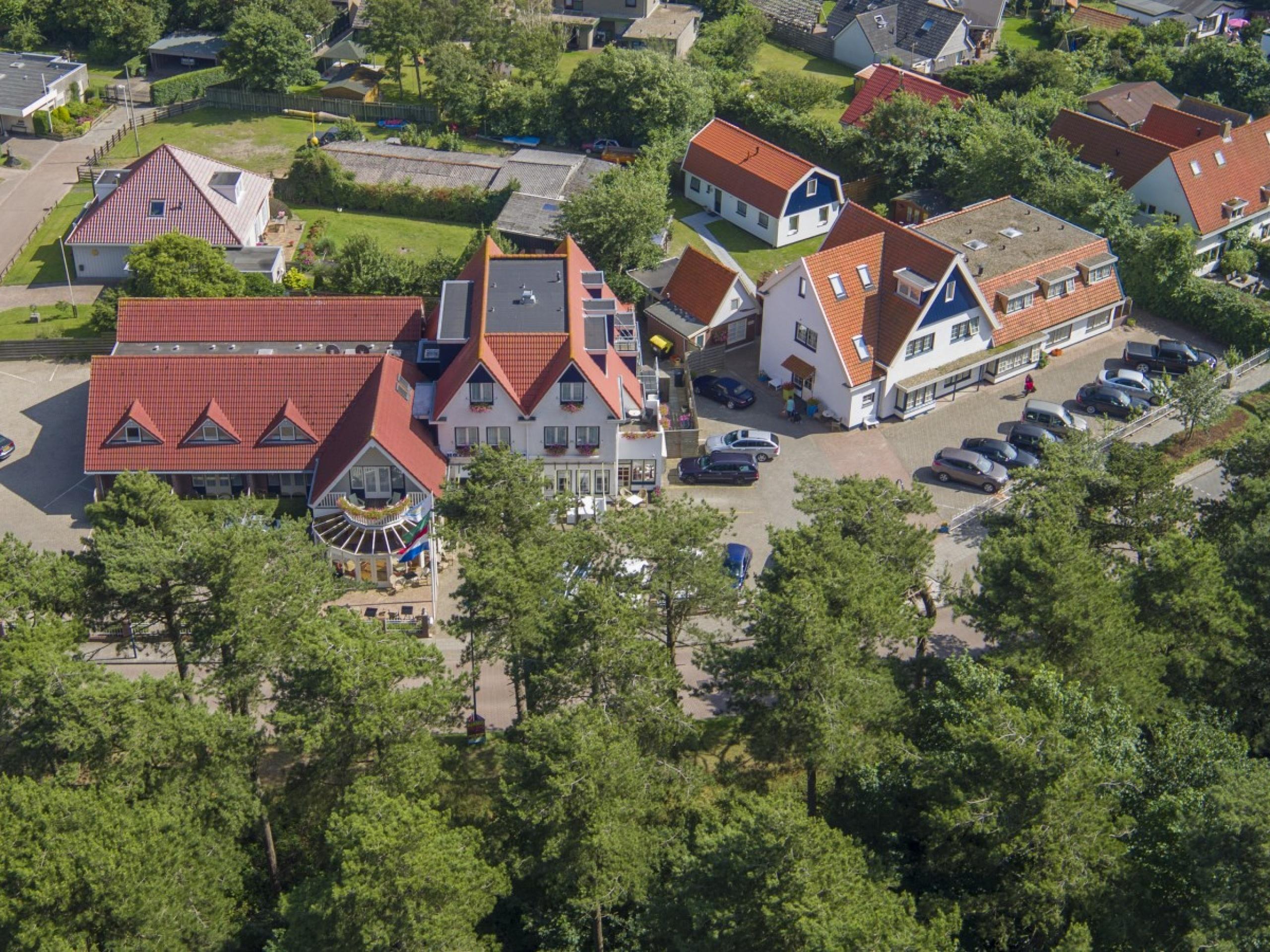 Hotelzimmer mit Terrasse in der Nähe des Nordseestrandes in De Koog