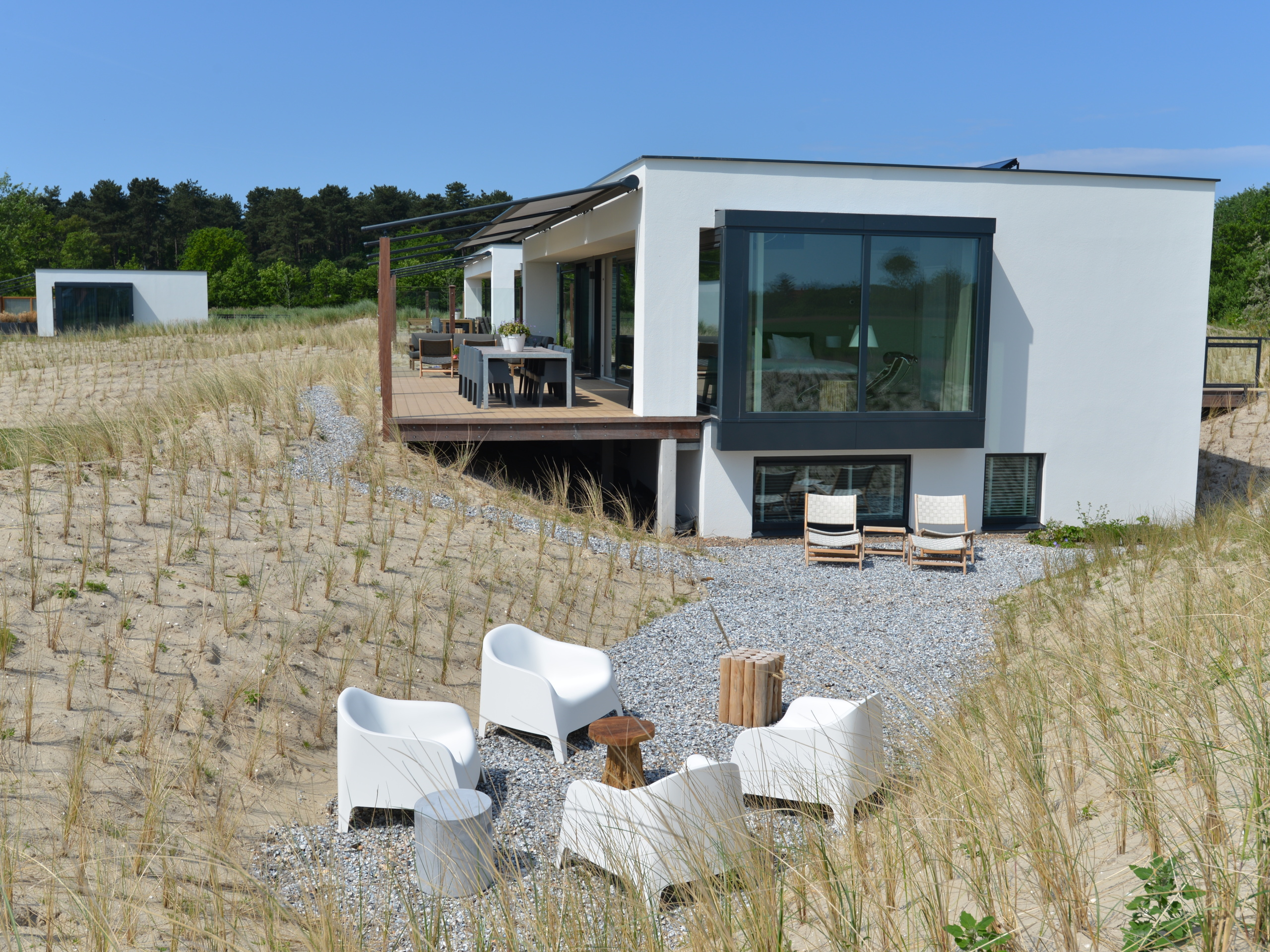 Exclusive detached luxury villa with sauna in forest De Dennen