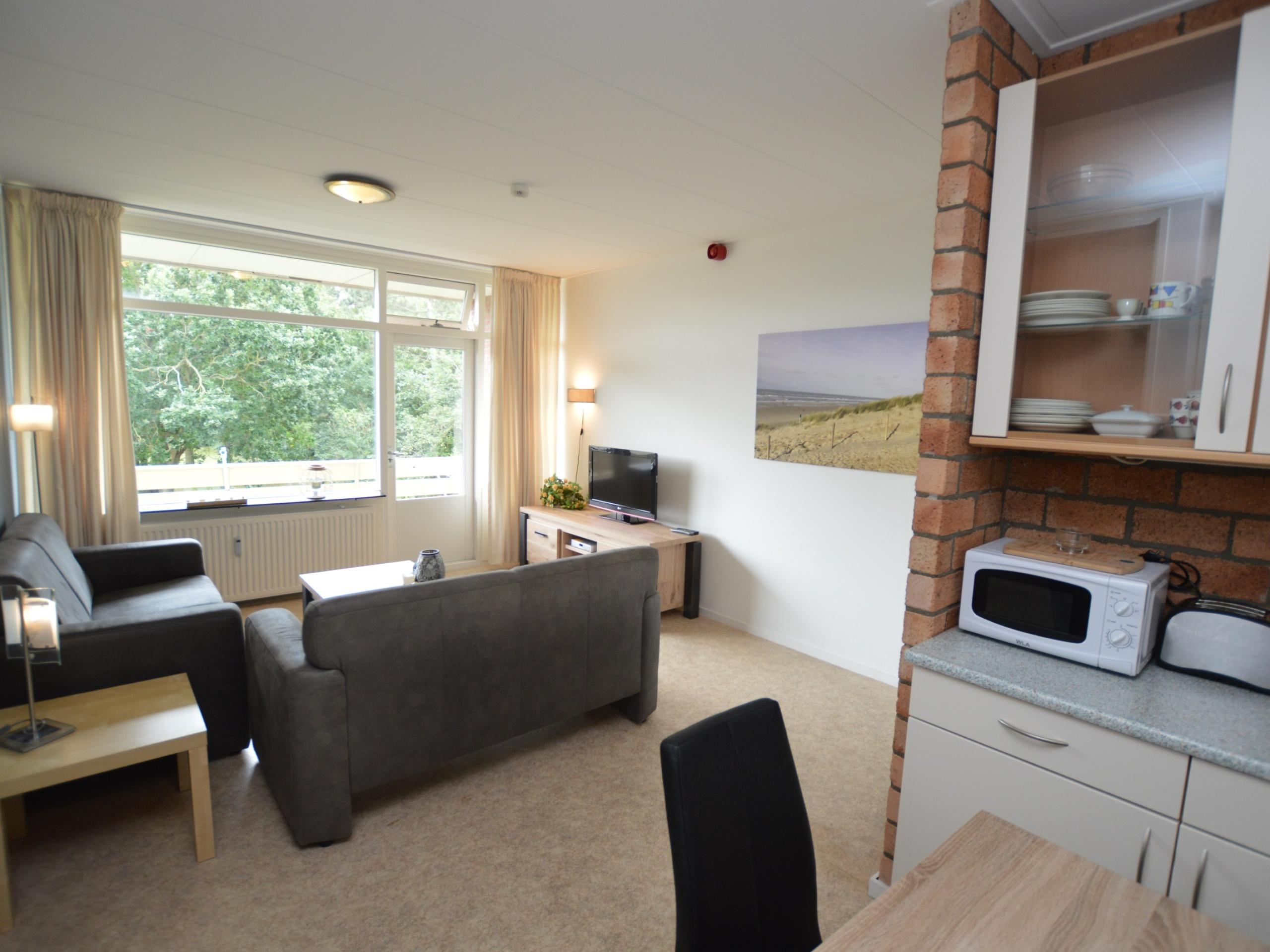 Ruhig gelegenes Appartement an der Gartenseit bei De Koog