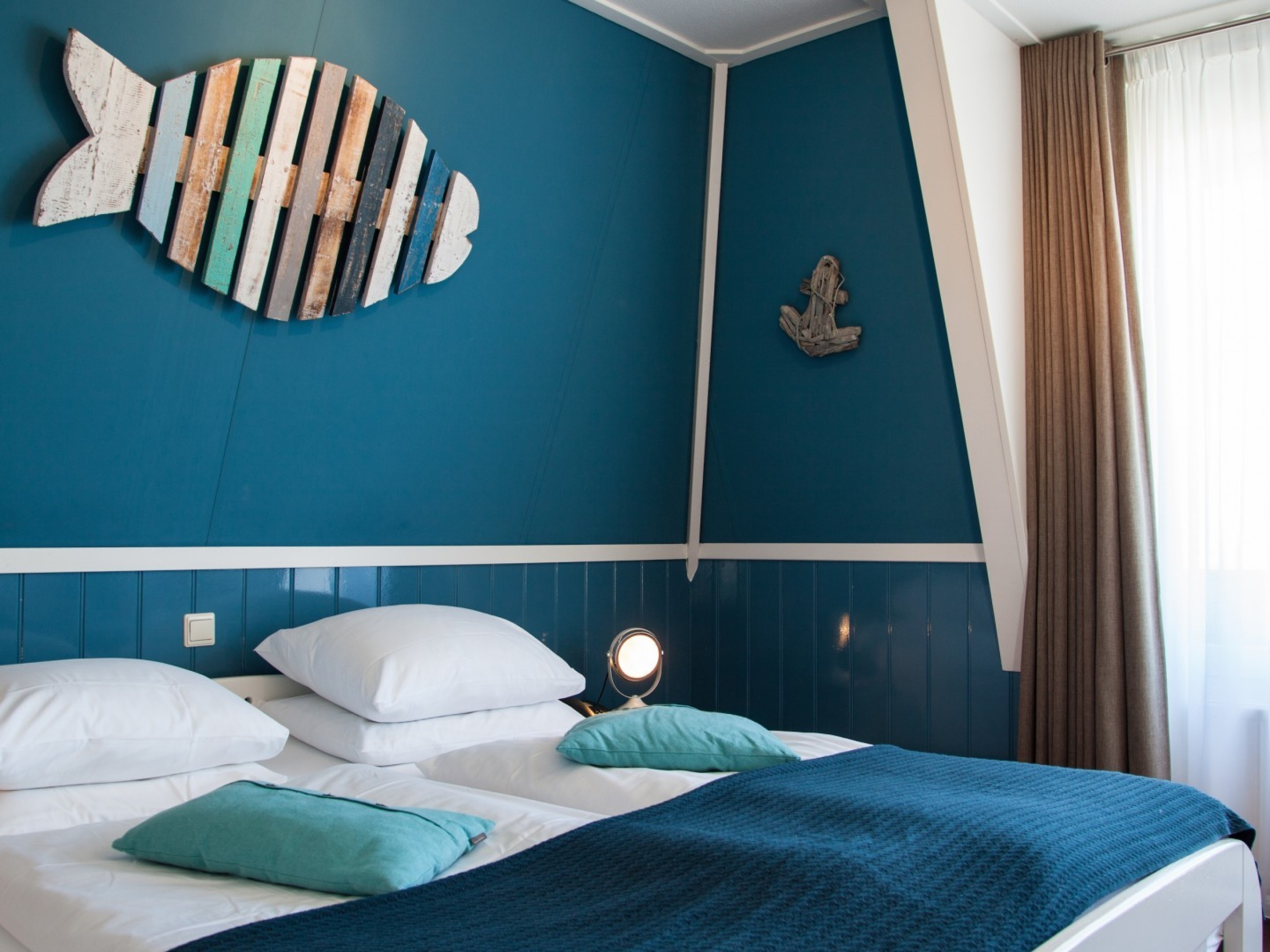 Hotel with luxurious rooms with views overlooking the North Sea in De Koog