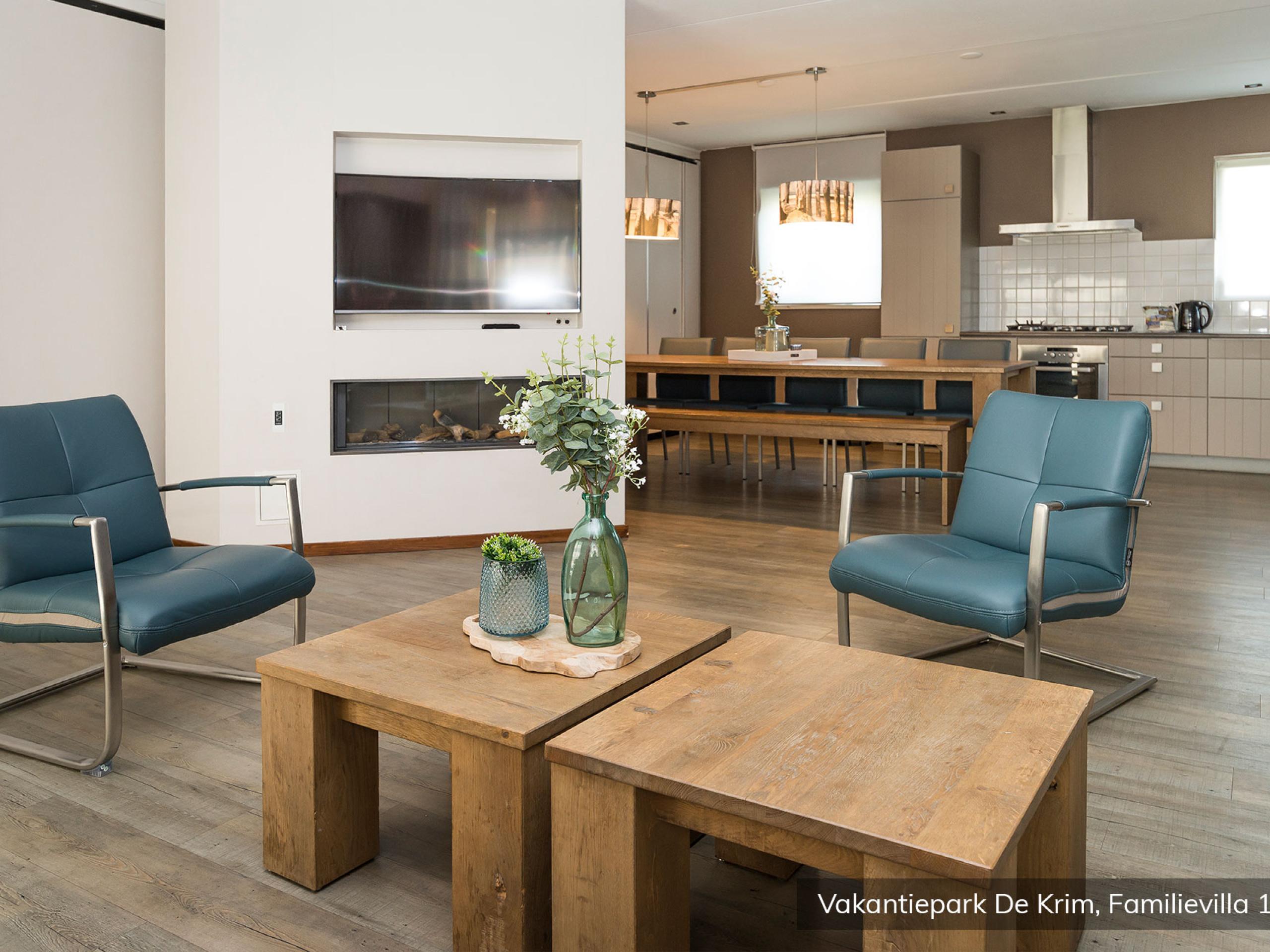Comfortabele, luxe familievilla op vakantiepark nabij De Cocksdorp