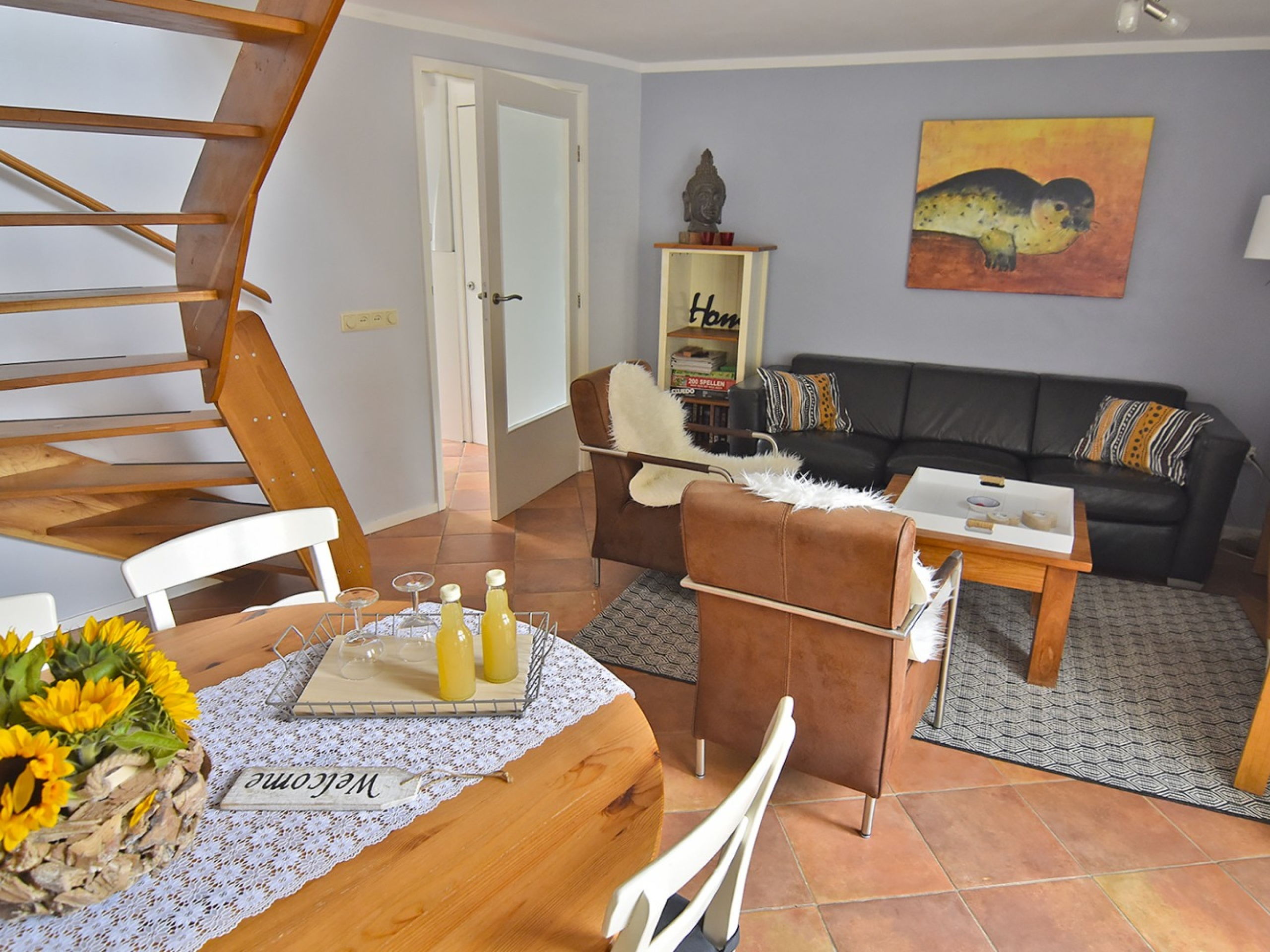 Cosy holiday home within walking distance of the beach in De Koog