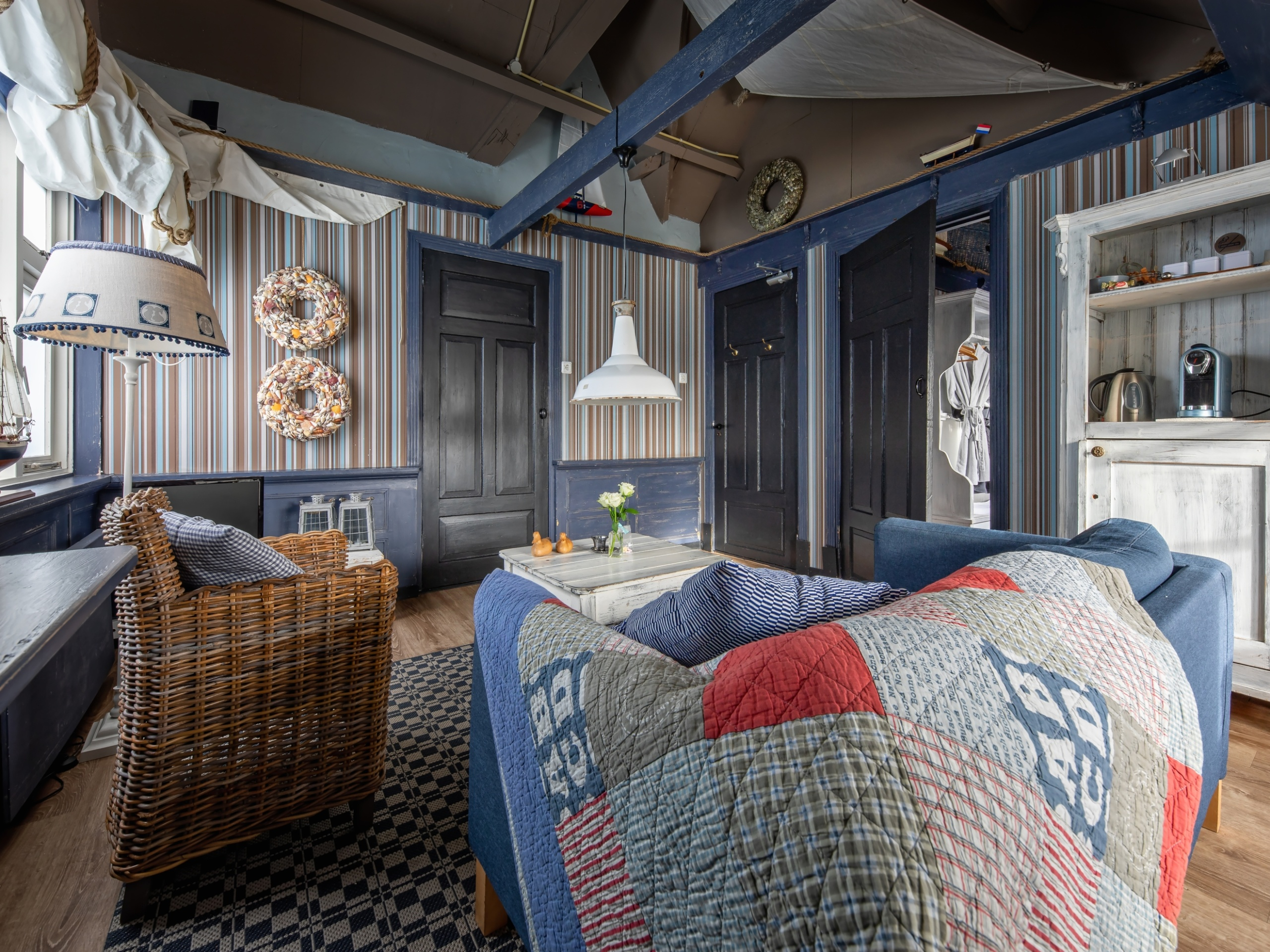 Studio Zilt in De Cocksdorp combineert de sfeer van vroeger met luxe van nu