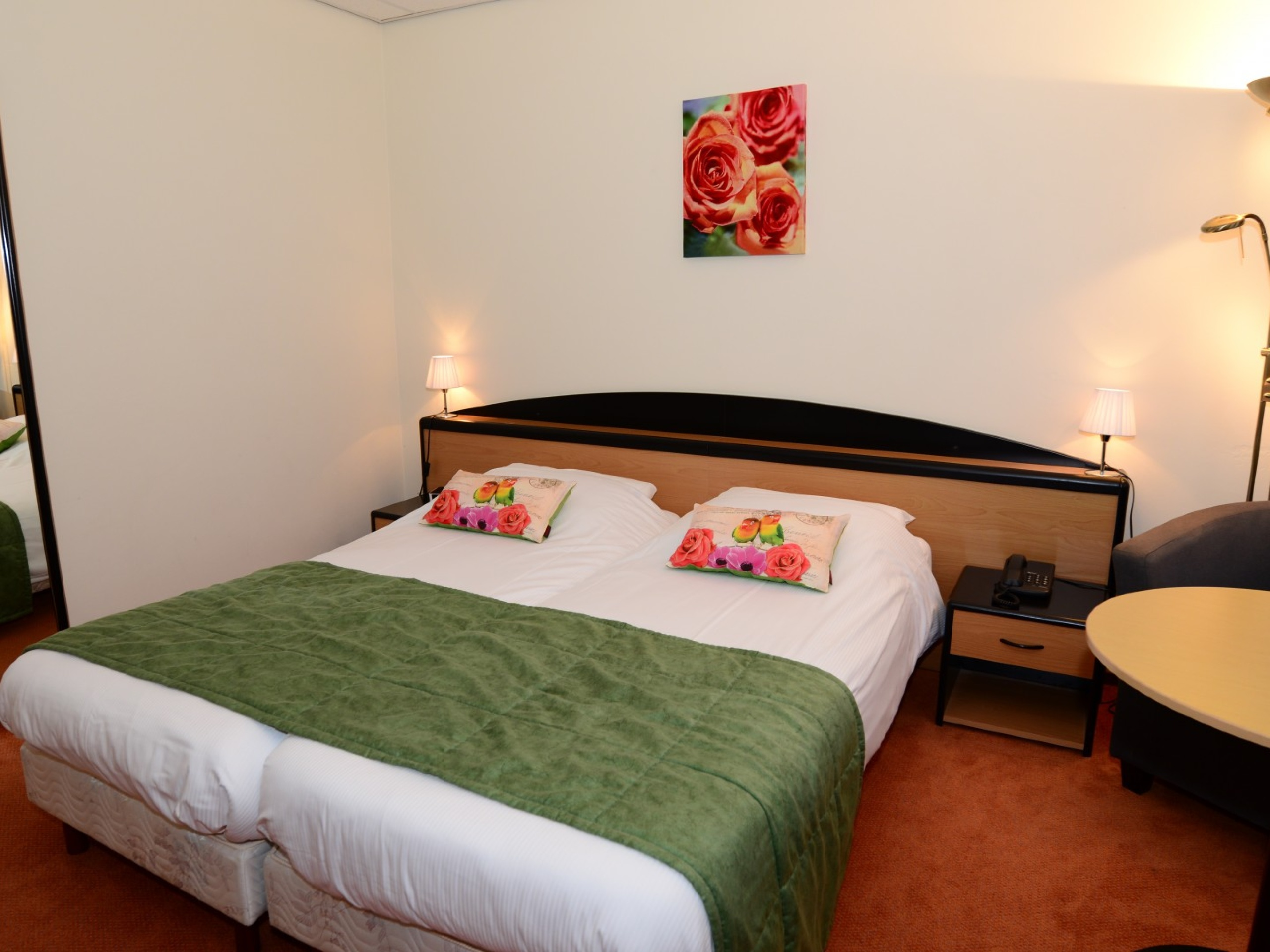 Hotel in De Koog with French balcony and extra bedroom