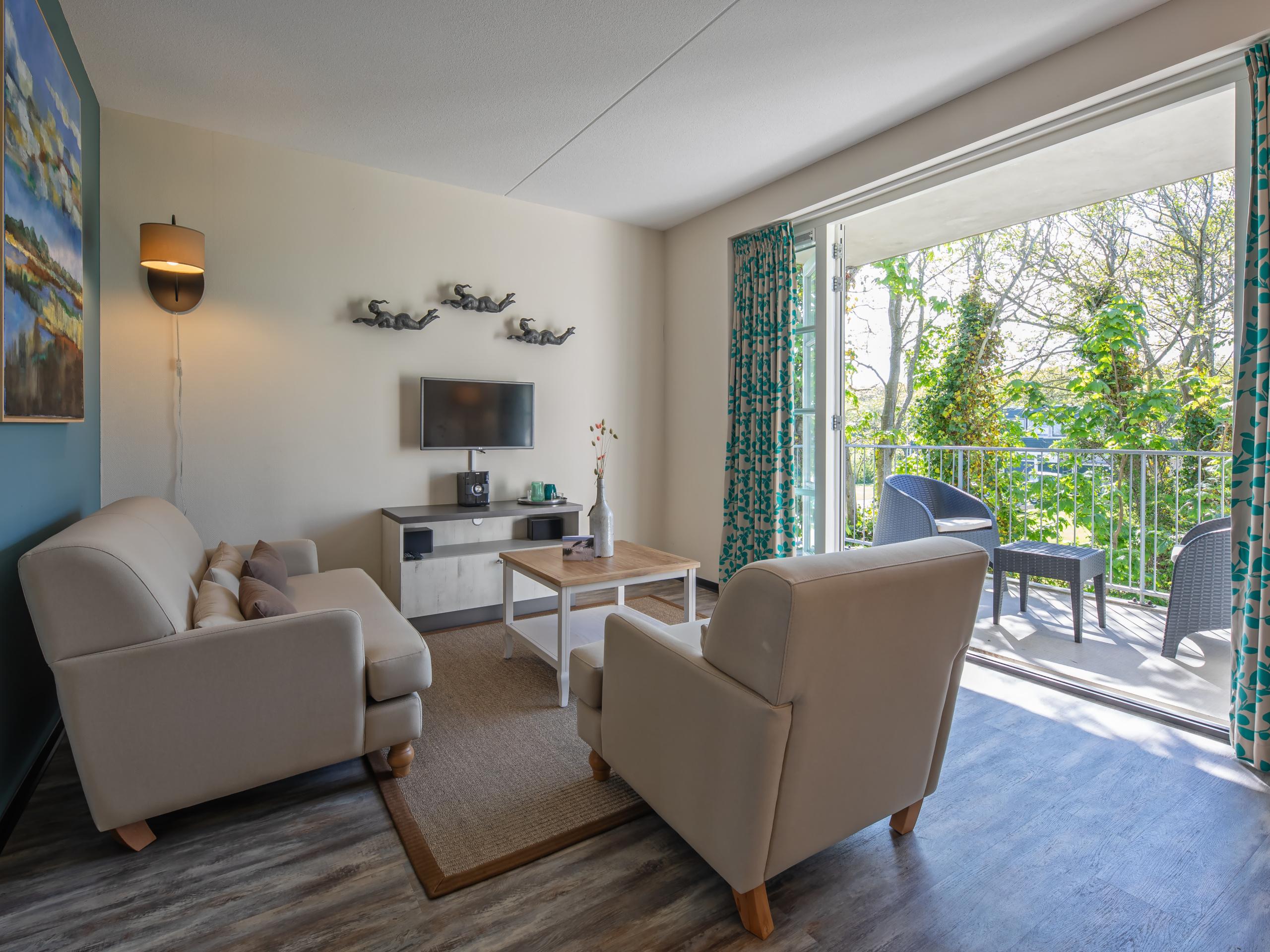 Luxe suite in het centrum van badplaats De Koog