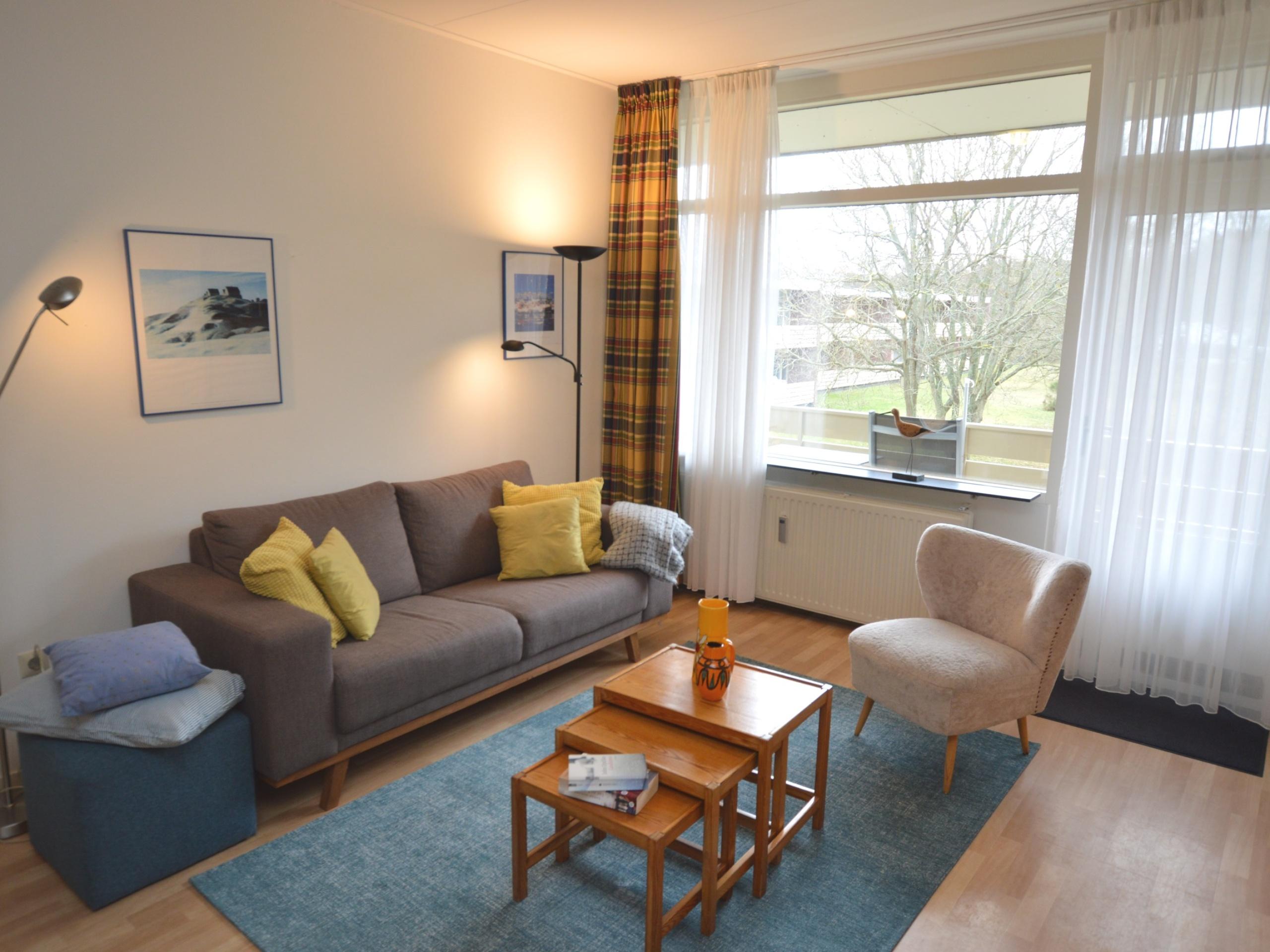 Komfortable Wohnung an der Gartenseite in der Nähe von De Koog und Wald
