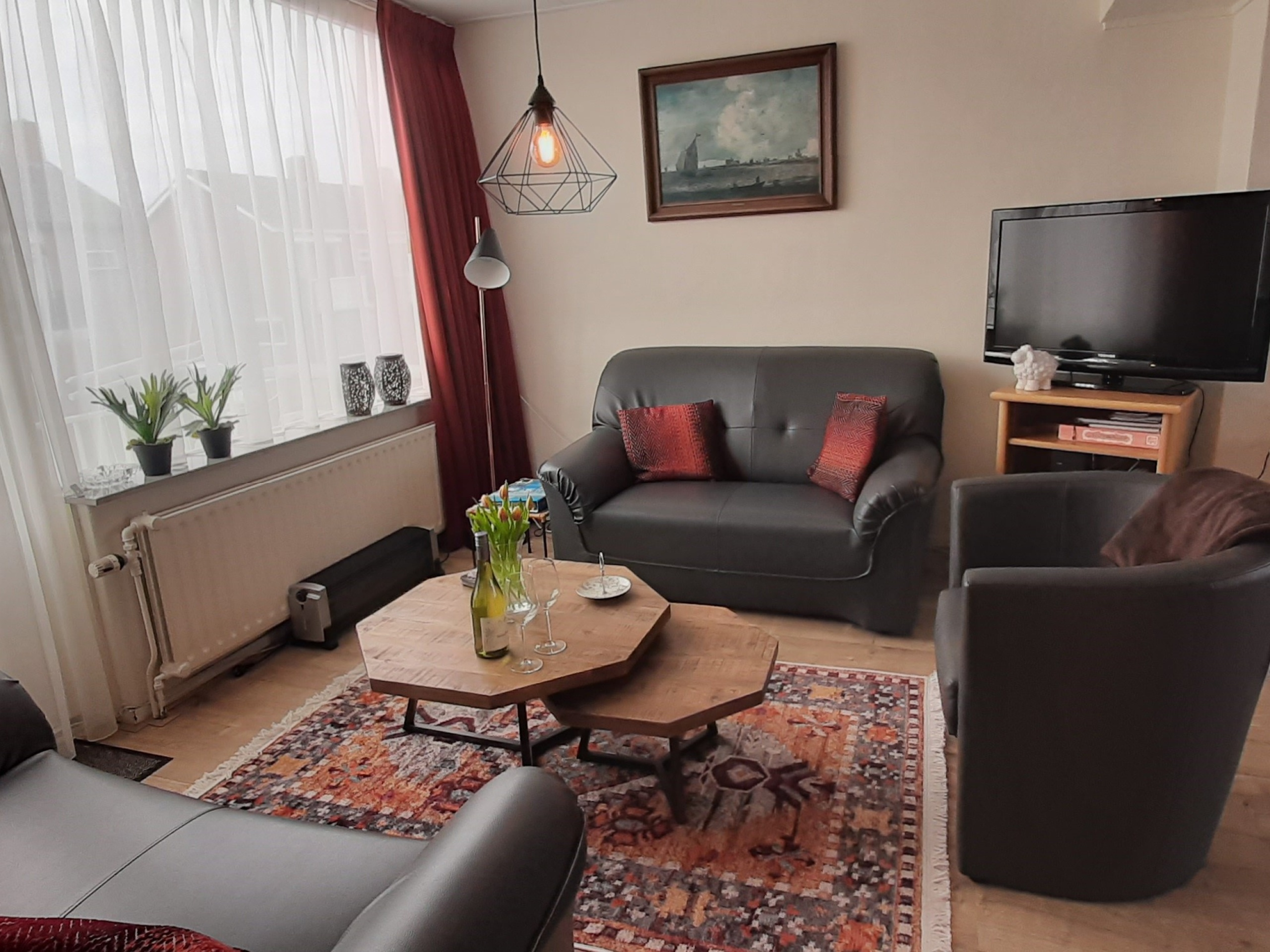 Fully furnished apartment near the beach in the centre of De Koog