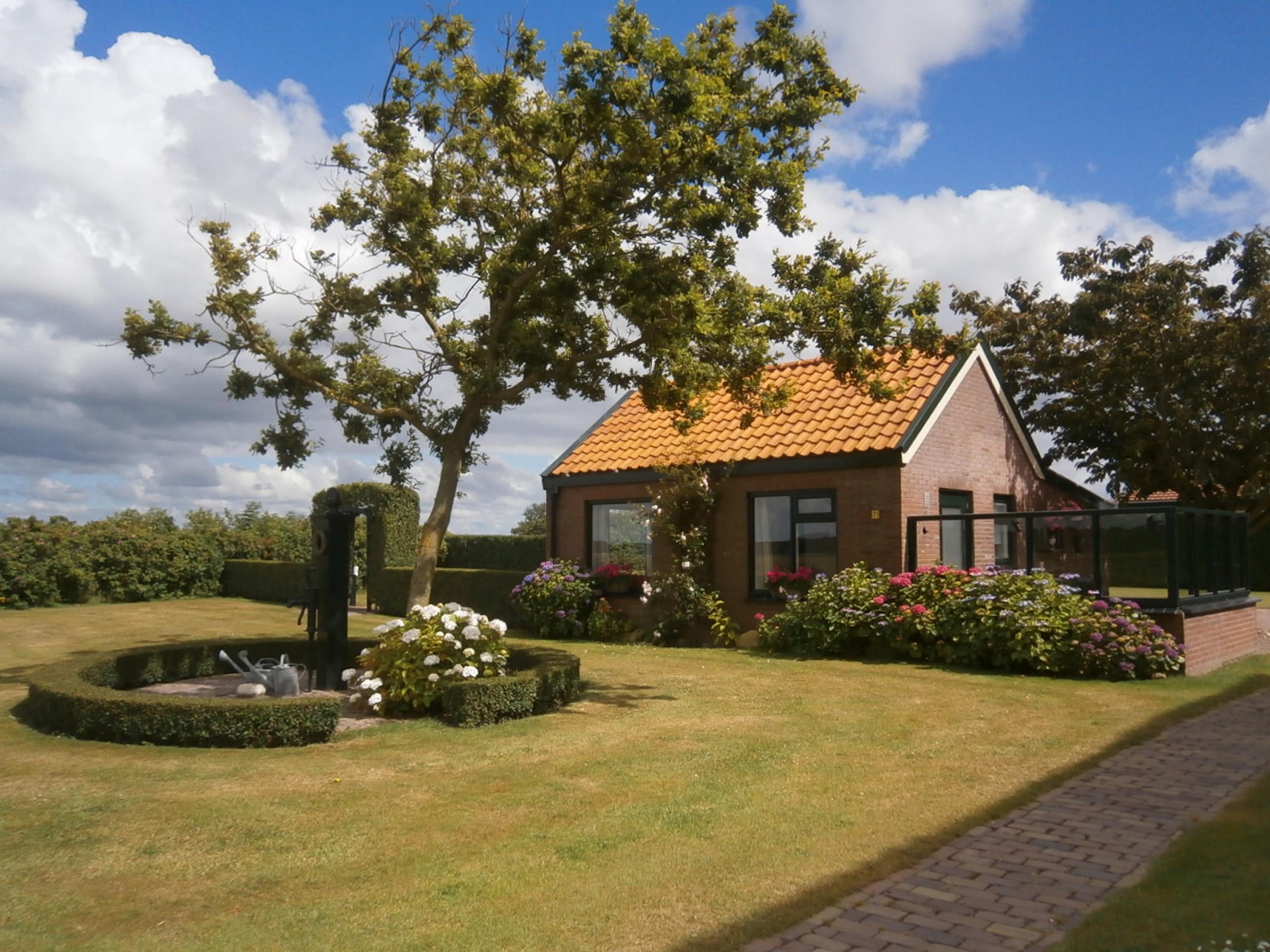 Nachbarschaft De Westen in der Nähe von Den Hoorn, wo Sie einen weiten Blick haben