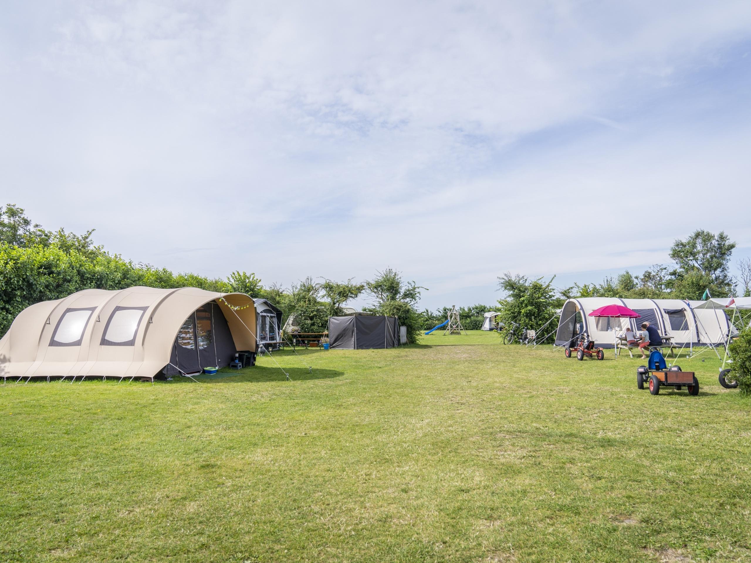 Ländlich campen auf Bauerncamping ruhig gelegen in Den Hoorn