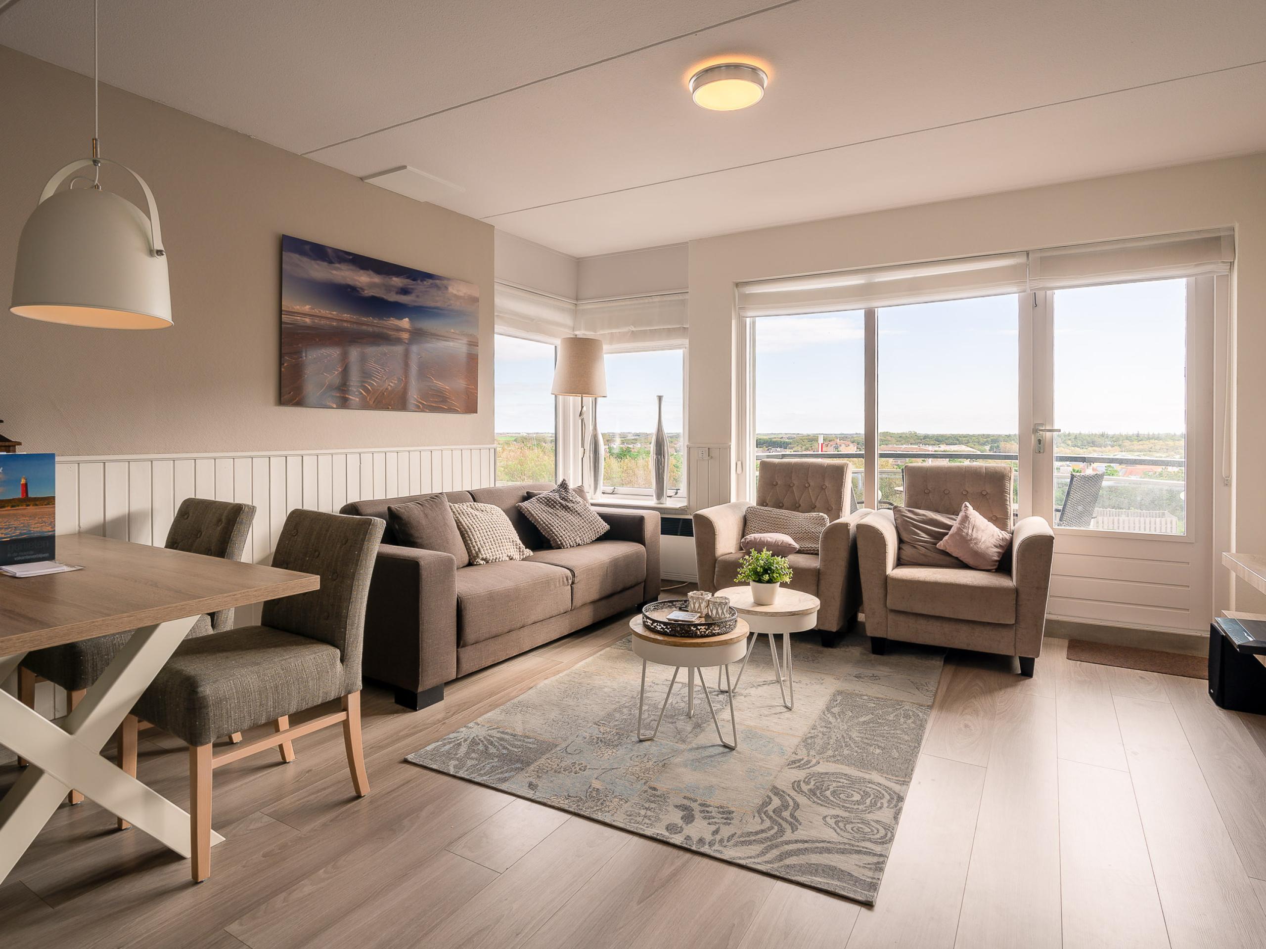 Appartement im ersten Stock mit Aussicht auf De Koog