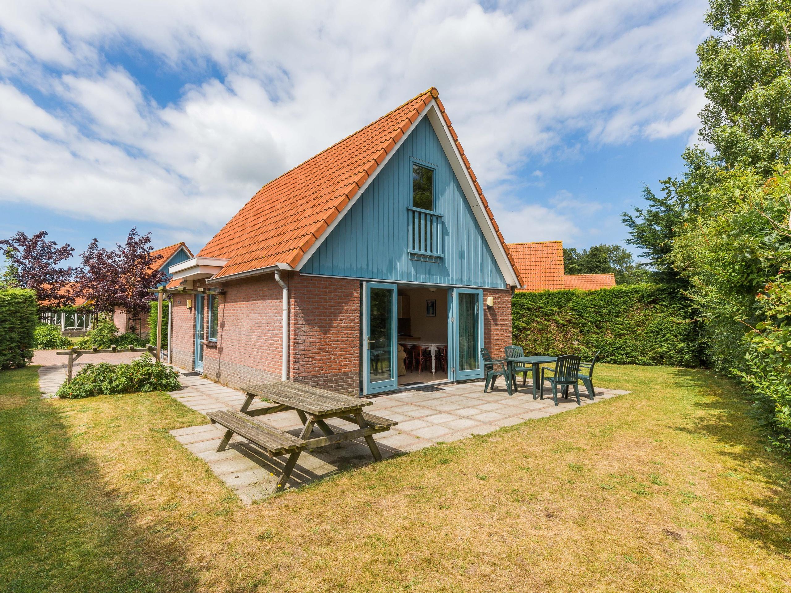 Vrijstaand comfortabel vakantiehuis bij De Waddenzee en Oosterend