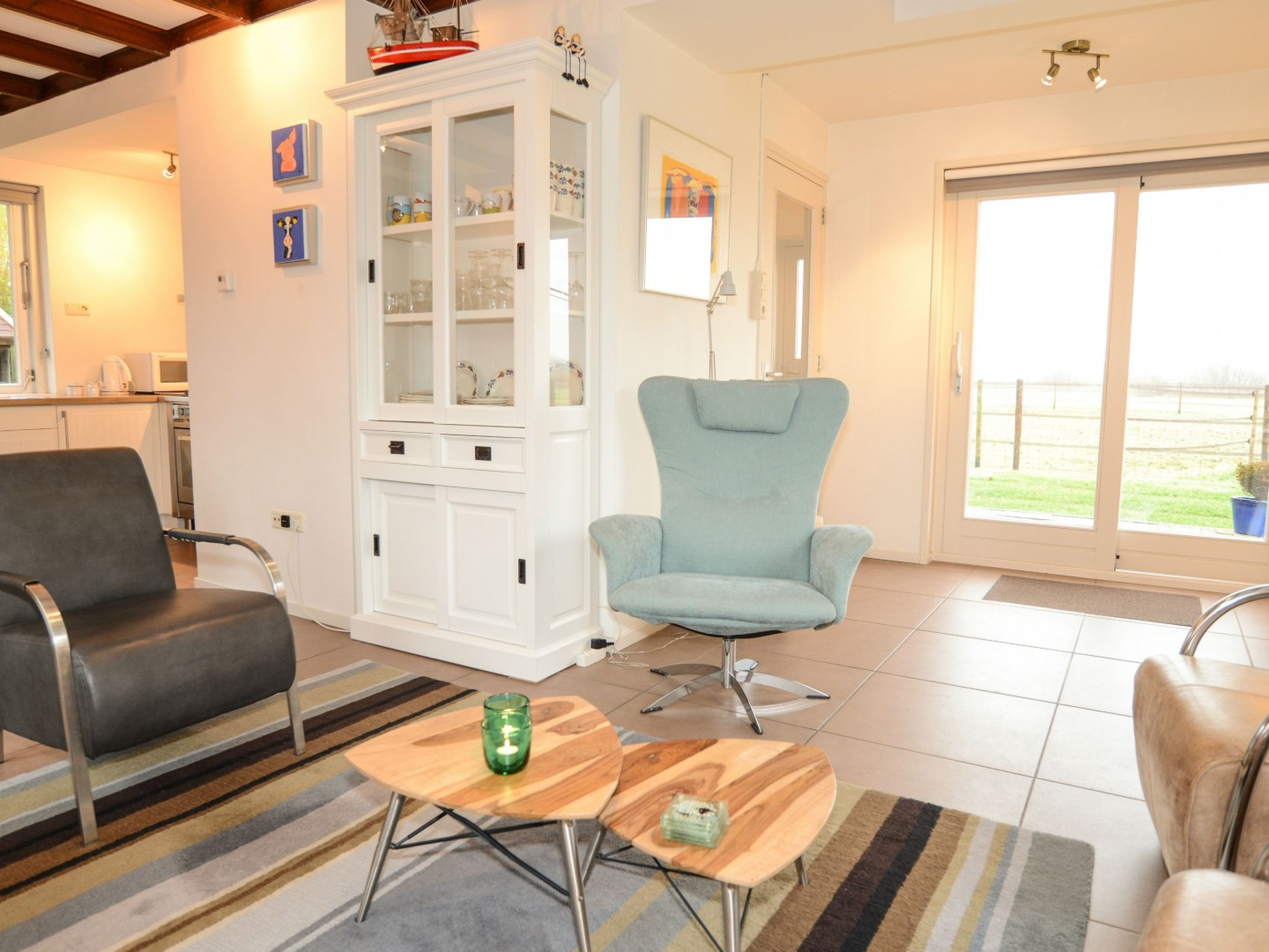 Tastefully furnished holiday home with panoramic views on the outskirts of Den Burg