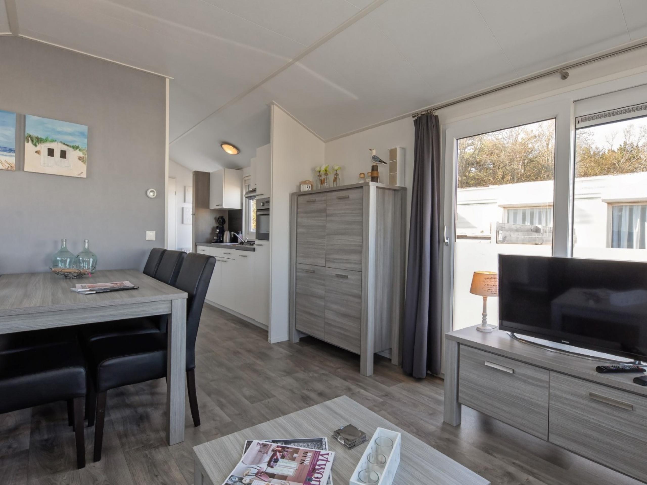 Modern ingericht luxe chalet op loopafstand van zee in De Koog
