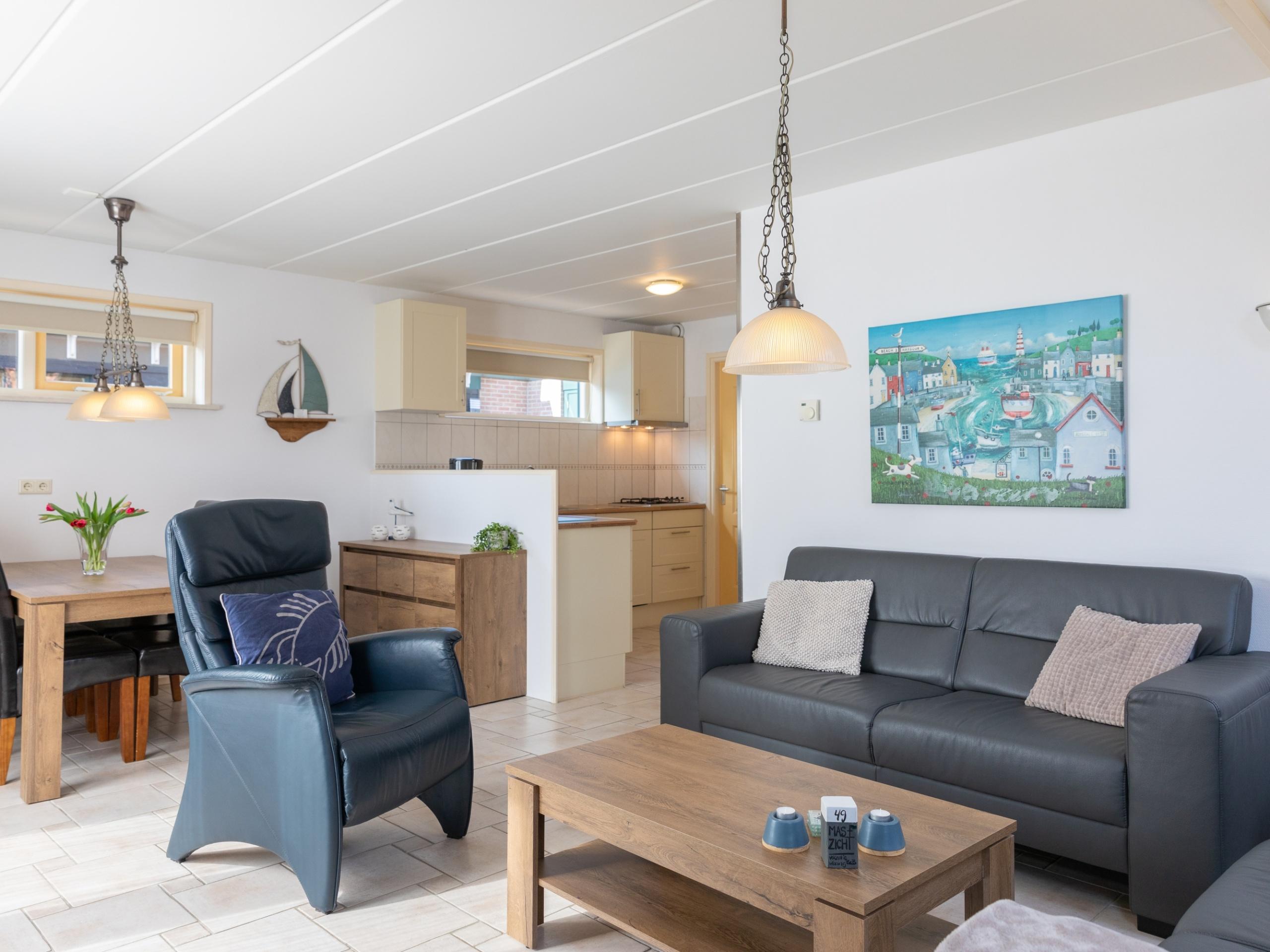 Sfeervol vakantiehuis vlakbij de Waddenzee en de haven van Oudeschild