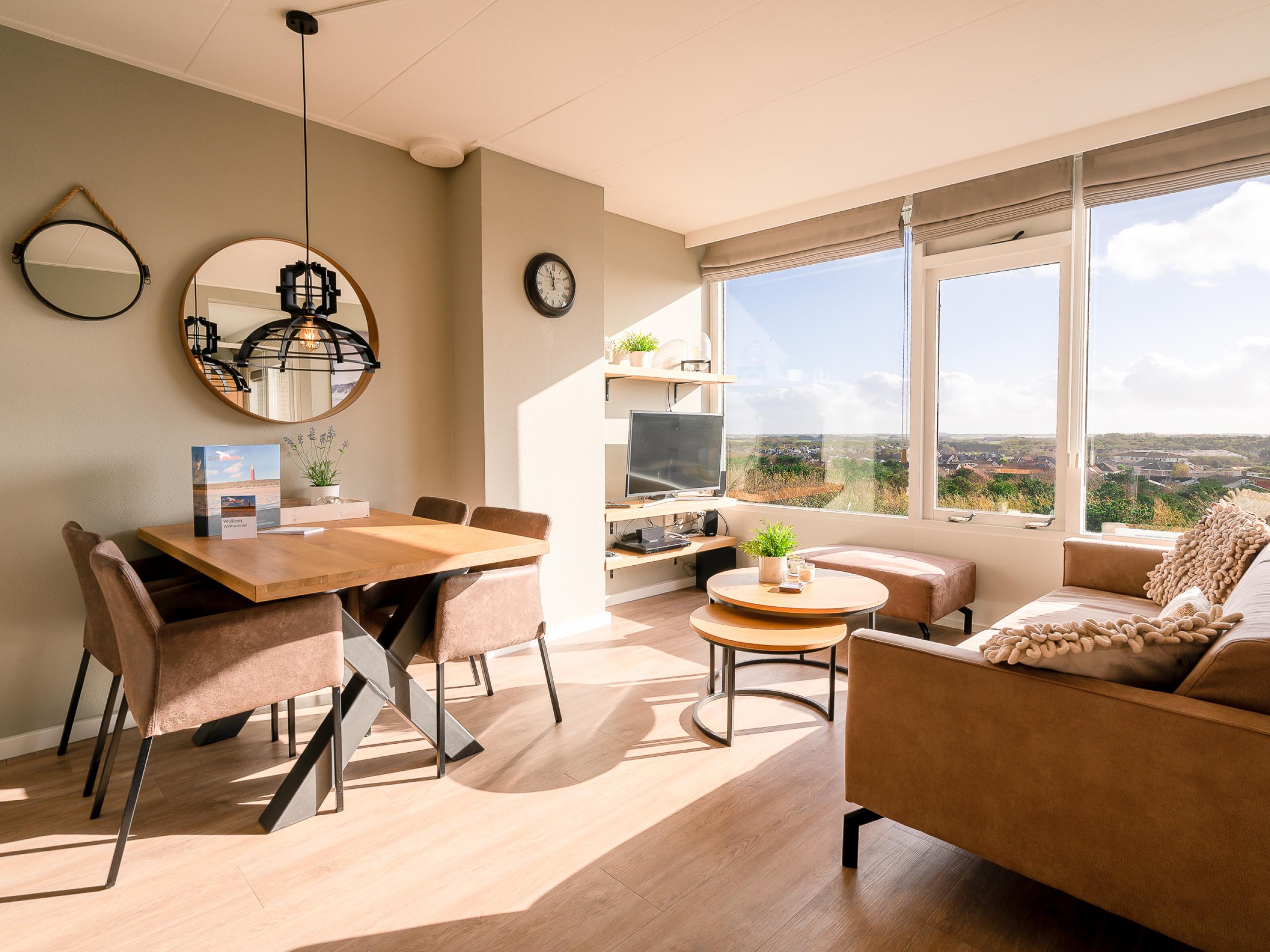 Appartement op de top van Texel vlakbij De Koog en Noordzee