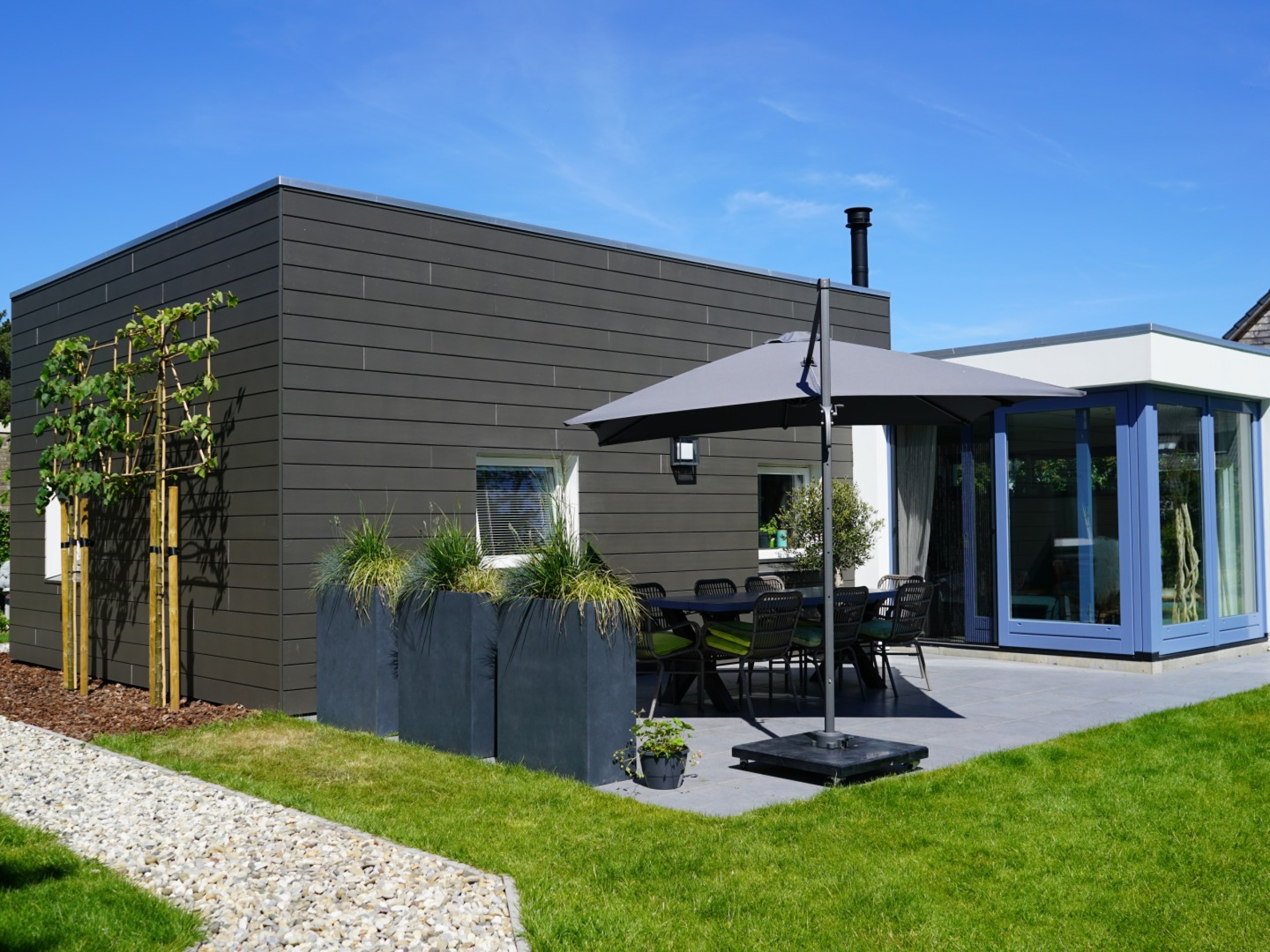 Detached holiday home 5 minutes by bike from the North Sea beach