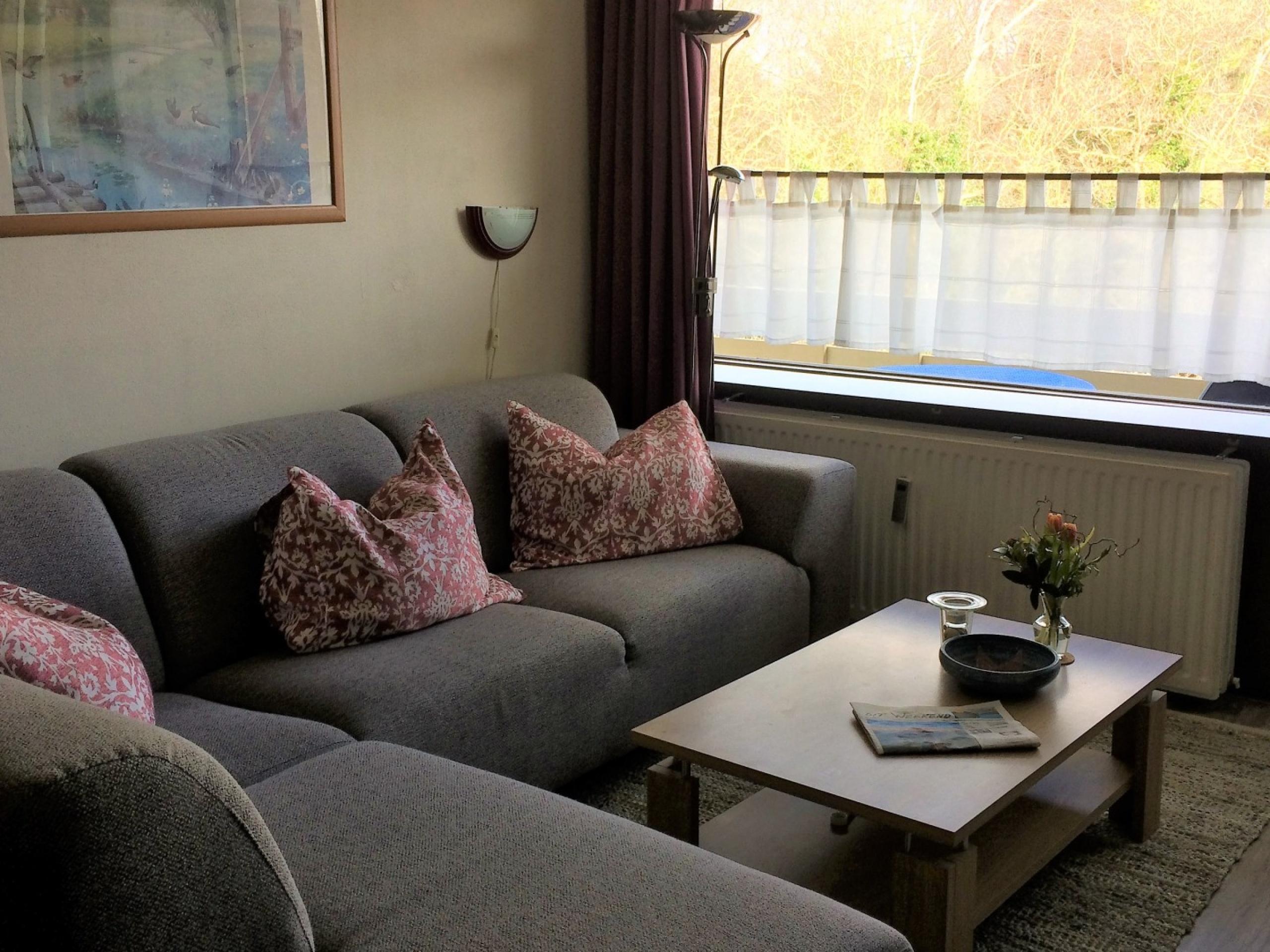 Angenehmes Appartement, schön eingerichtet.
