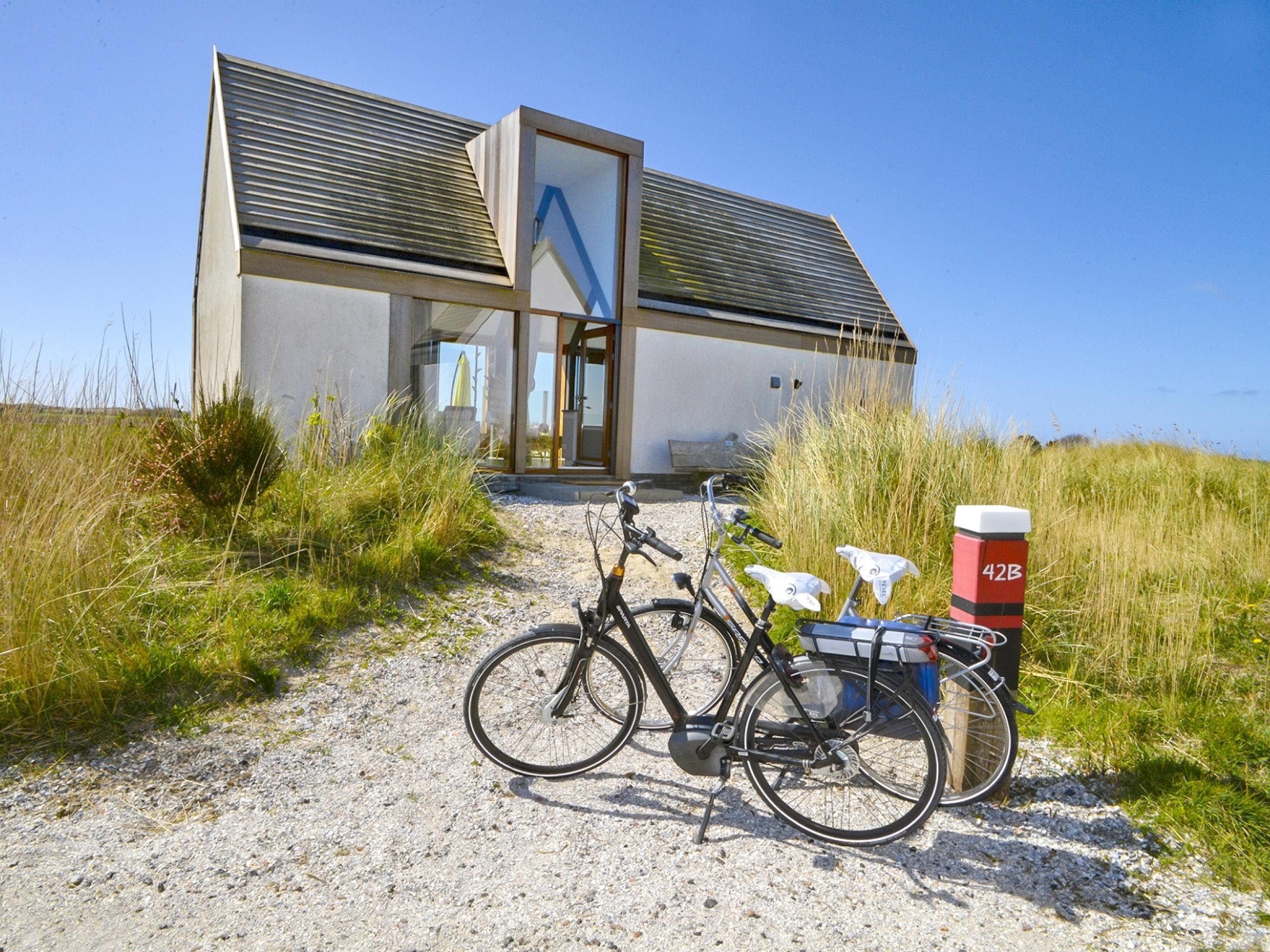 Design en comfort komen samen met wijds uitzicht over de Waddendijk