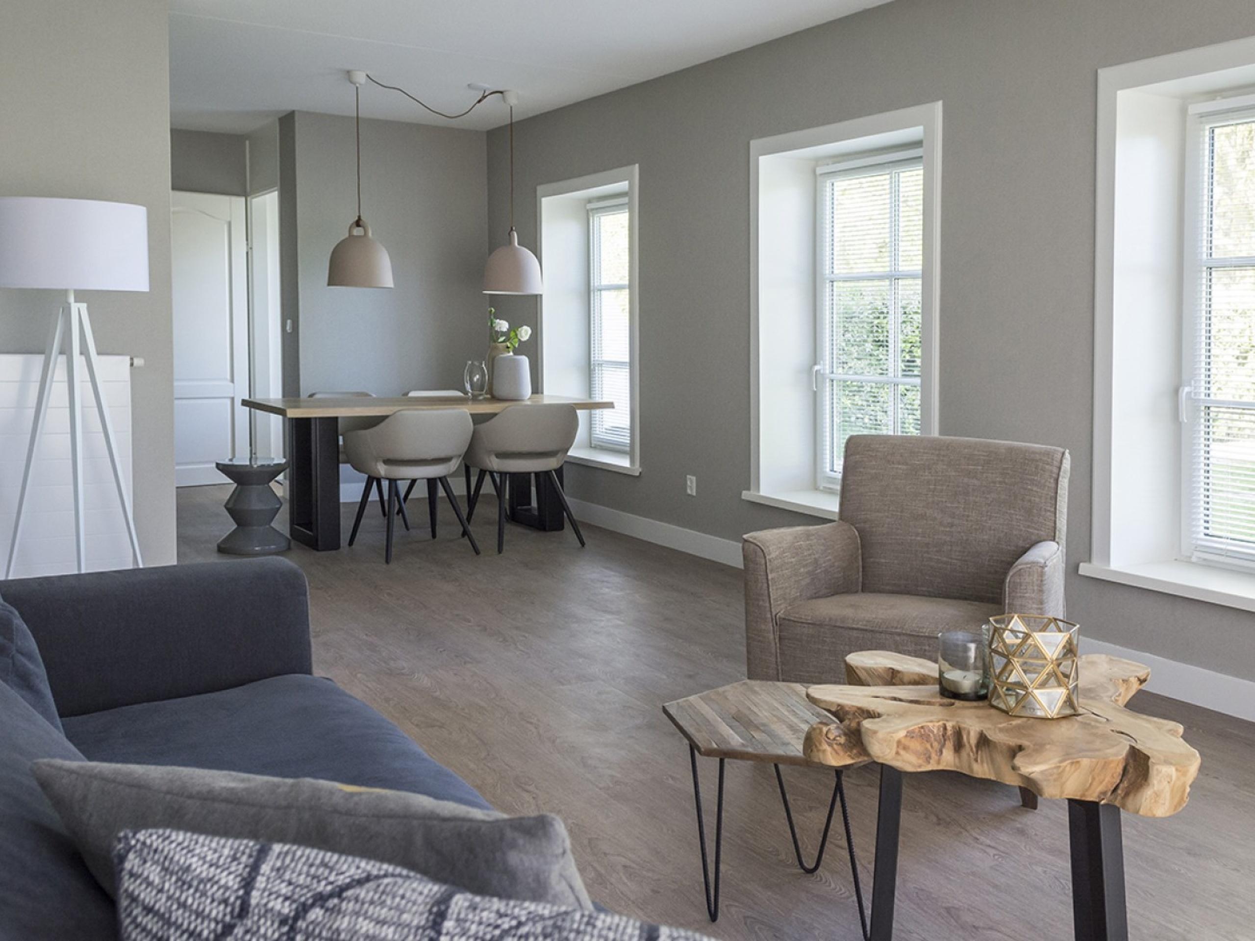 Luxe appartement nabij De Cocksdorp in sfeervolle boerderij.